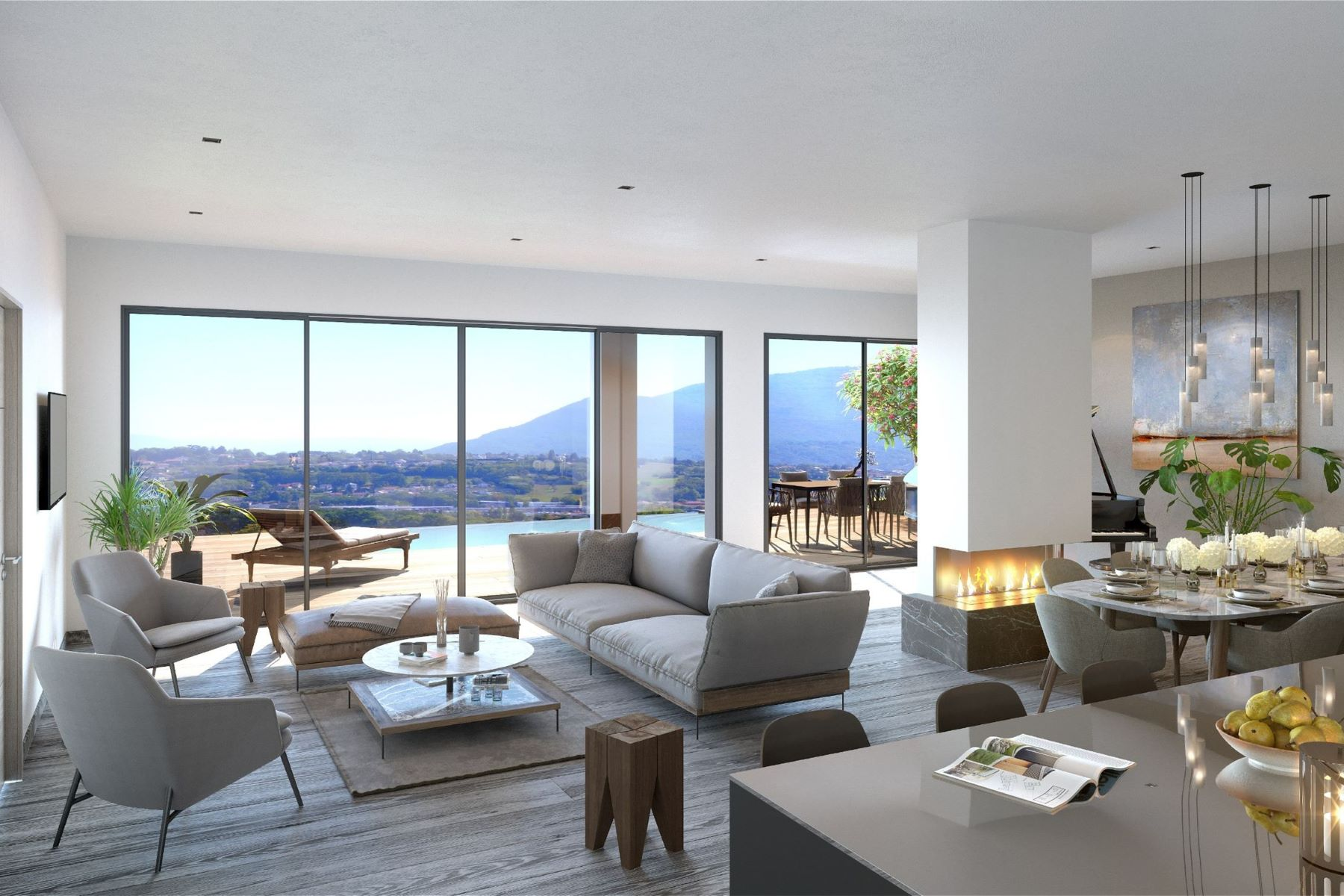 Single Family Home for Sale at EXCLUSIVITE – RESIDENCE SAKURA TIMELESS - NOUVEAU PROGRAMME Megeve, Rhone-Alpes 74120 France