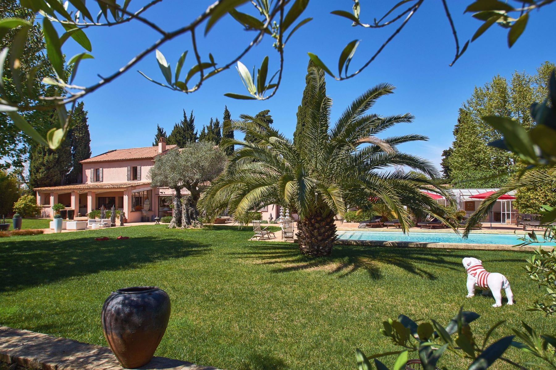 Single Family Homes for Sale at Renovated farm buildings at a short stroll of the beach of Pampelonne Ramatuelle, Provence-Alpes-Cote D'Azur 83350 France