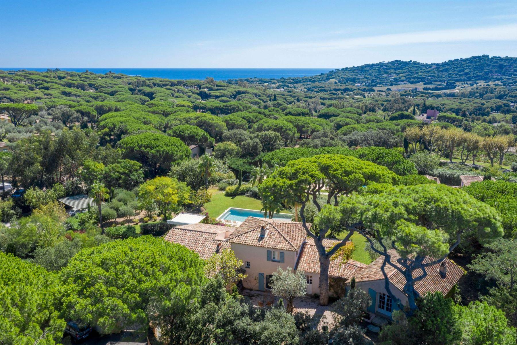 Single Family Homes for Sale at Wonderful provencal villa in the Parks of Saint Tropez Saint Tropez, Provence-Alpes-Cote D'Azur 83990 France