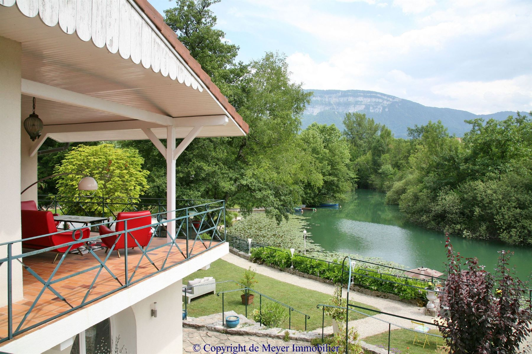 獨棟家庭住宅 為 出售 在 Charming waterfront property Other Rhone-Alpes, Rhone-Alpes, 73610 法國