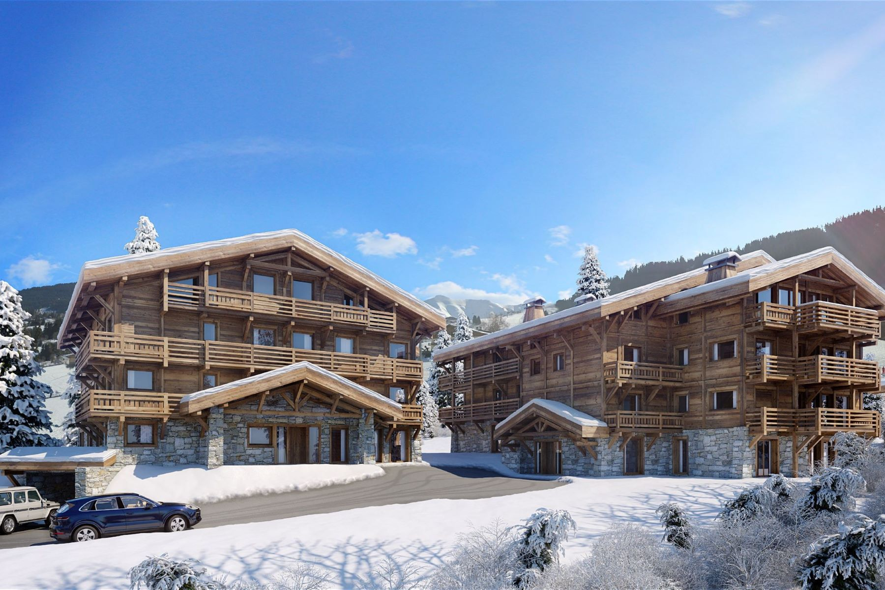 Apartments for Sale at Wonderful apartments for sale in French Alps Megeve, Rhone-Alpes 74120 France
