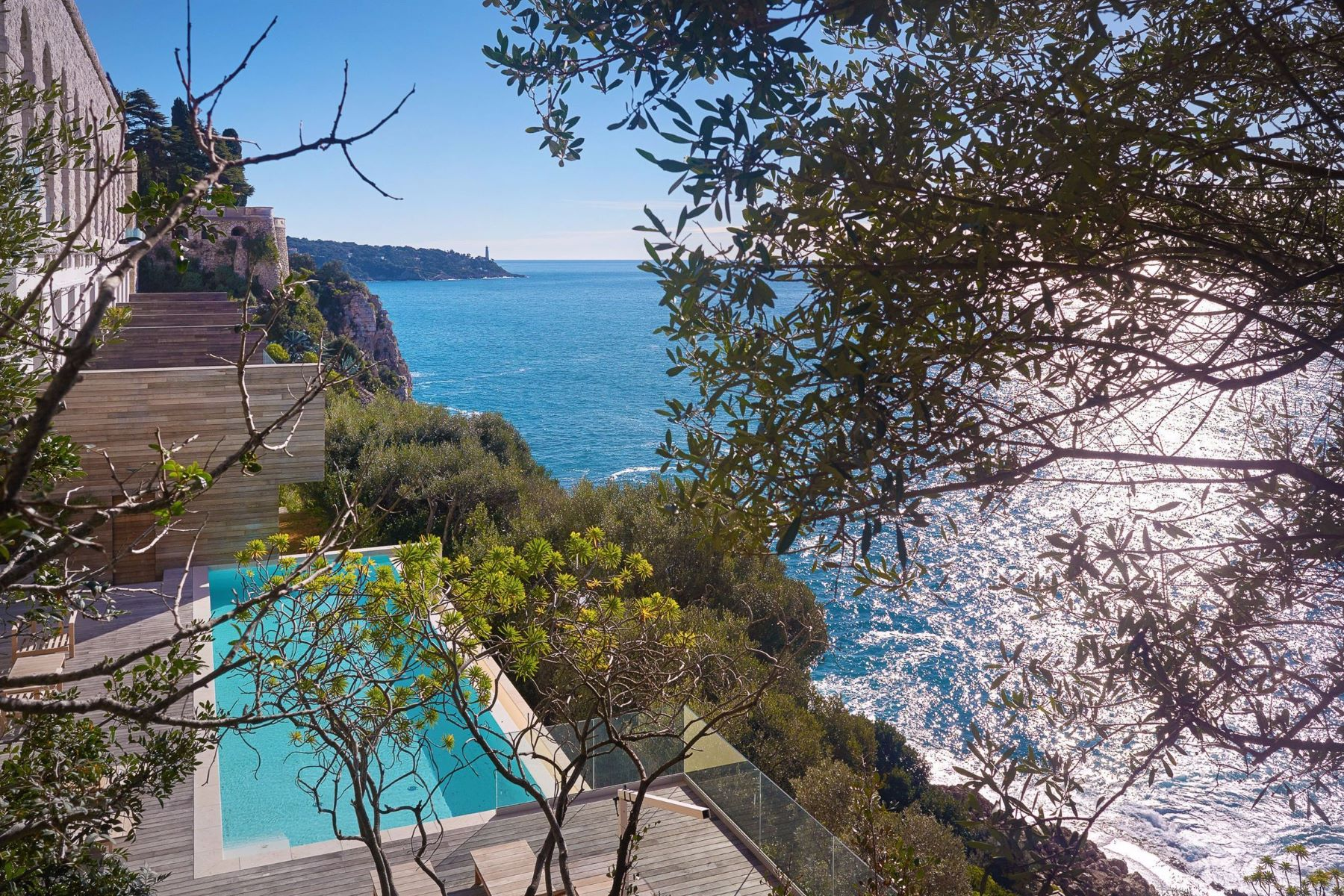 Additional photo for property listing at For sale - Private estate facing the sea - Cap de Nice - Palais Maeterlinck  Nice, Provence-Alpes-Cote D'Azur 06300 France