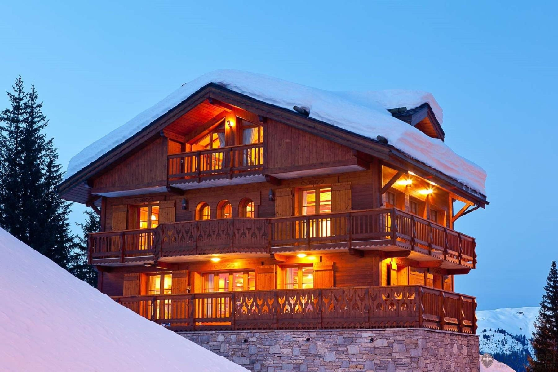 Casa Unifamiliar por un Alquiler en Luxury Chalet Appel de la Foret Courchevel Courchevel 1850, Ródano-Alpes, 73120 Francia