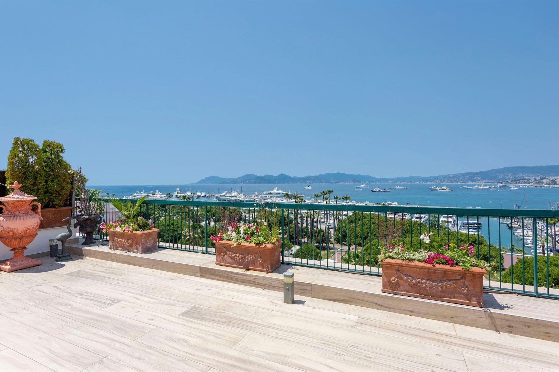 Apartments por un Venta en Penthouse Cannes, Provincia - Alpes - Costa Azul 06400 Francia