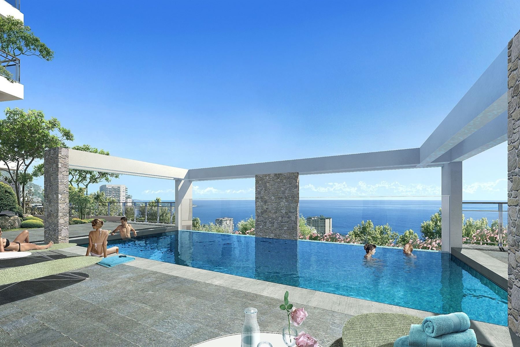 """Apartments for Sale at 2 bedroom apartment - """"Essenciel"""" -New residence- sea view Beausoleil, Provence-Alpes-Cote D'Azur 06240 France"""