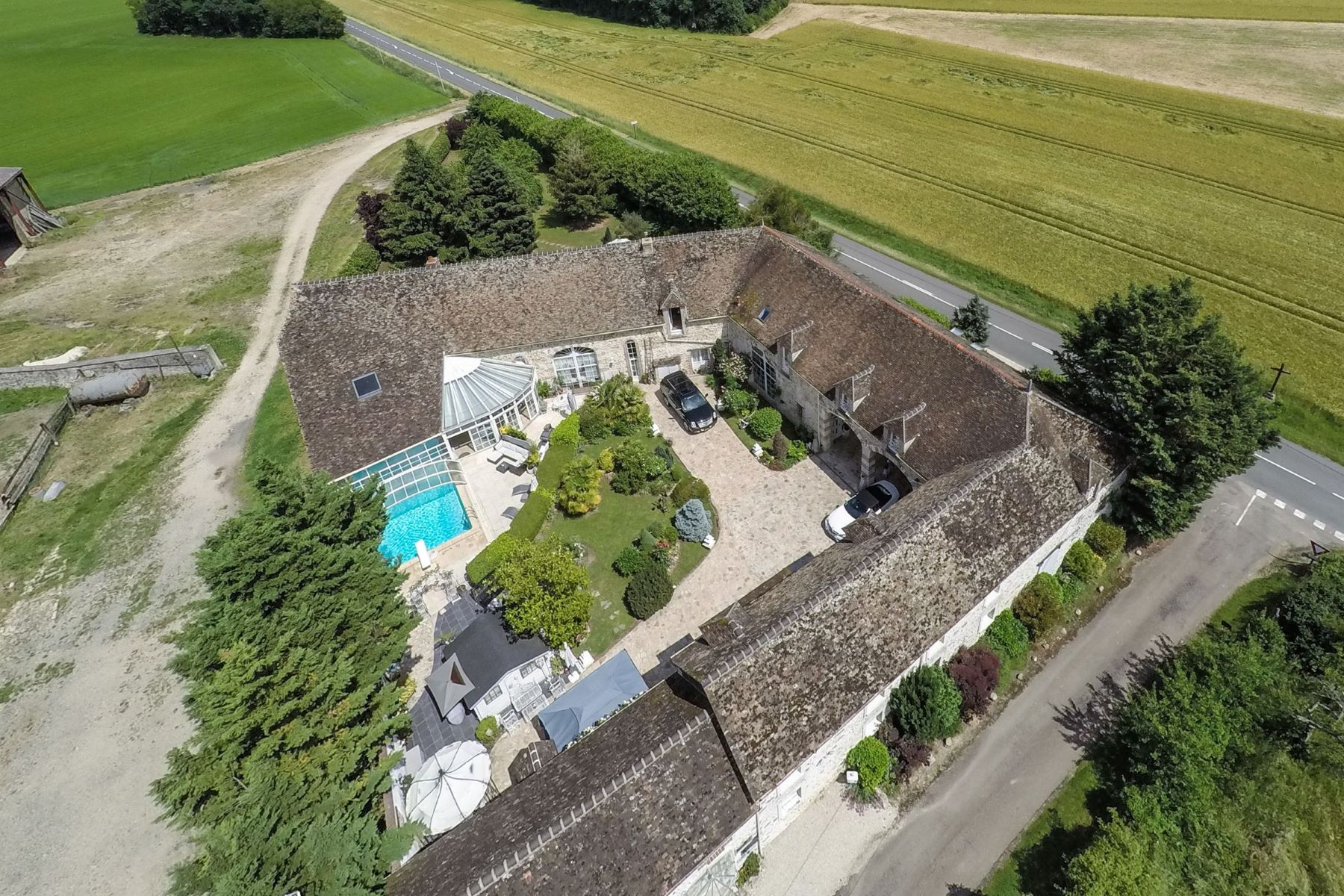 Single Family Homes for Active at French farm house Montargis, Centre 45200 France