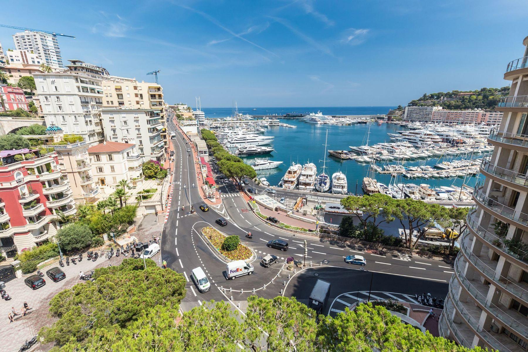 Property 용 매매 에 Le Panorama, Prestigious apartment Monaco, La Condamine 98000 모나코