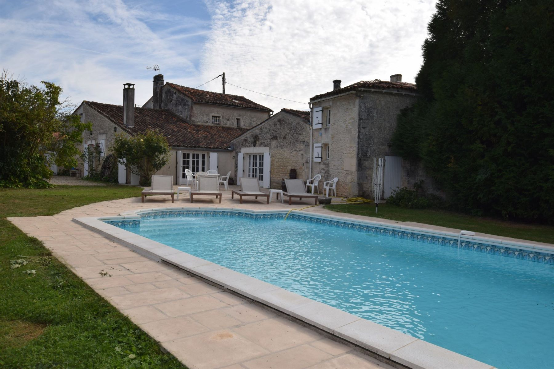 Single Family Home for Sale at Stone house with pool and barn Other Poitou-Charentes, Poitou-Charentes, 16370 France