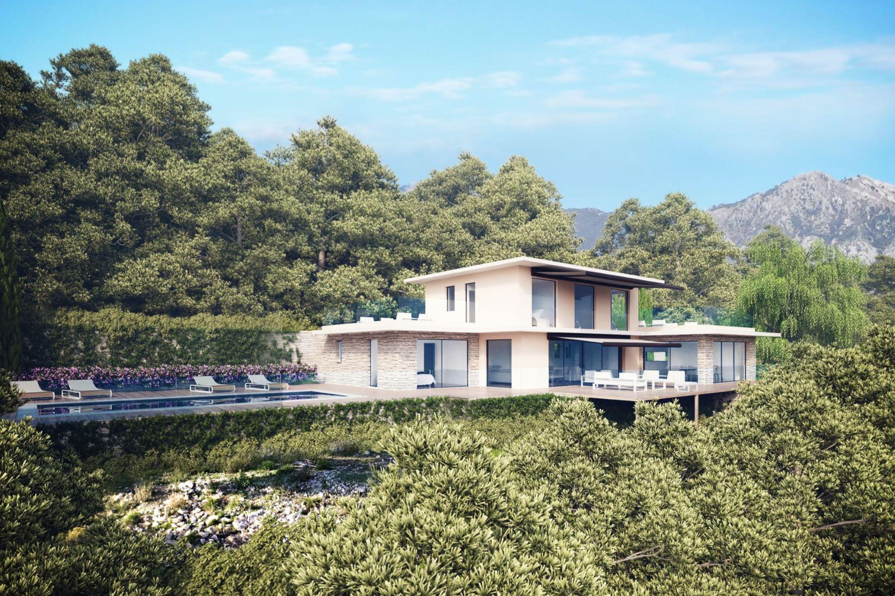 Single Family Homes por un Venta en Close to Monaco, in Roquebrune Cap Martin, a brand new villa for sale Roquebrune Cap Martin, Provincia - Alpes - Costa Azul 06190 Francia