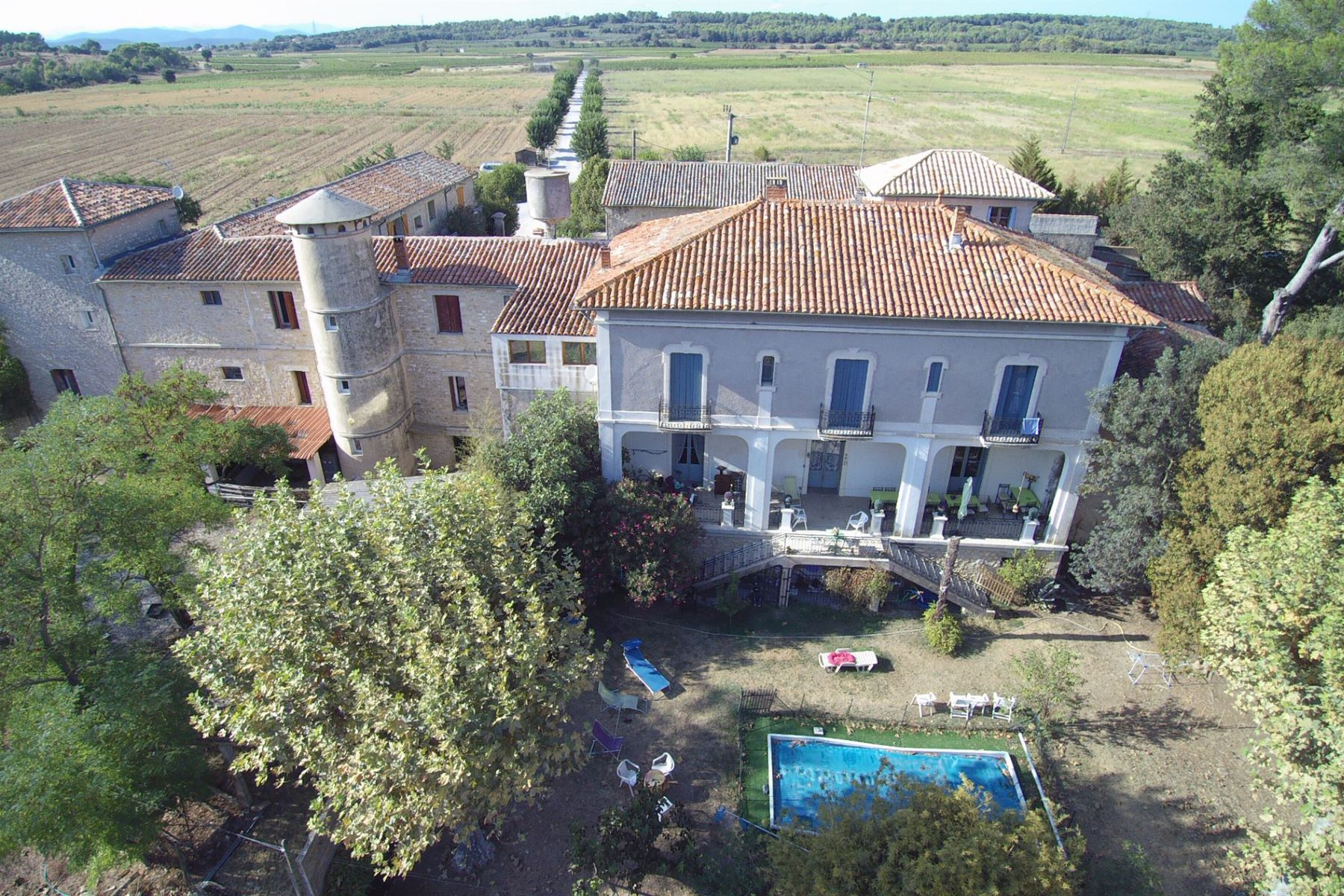 Single Family Home for Sale at Sommières large property with incomes on 30 HA Nimes, Languedoc-Roussillon 30000 France