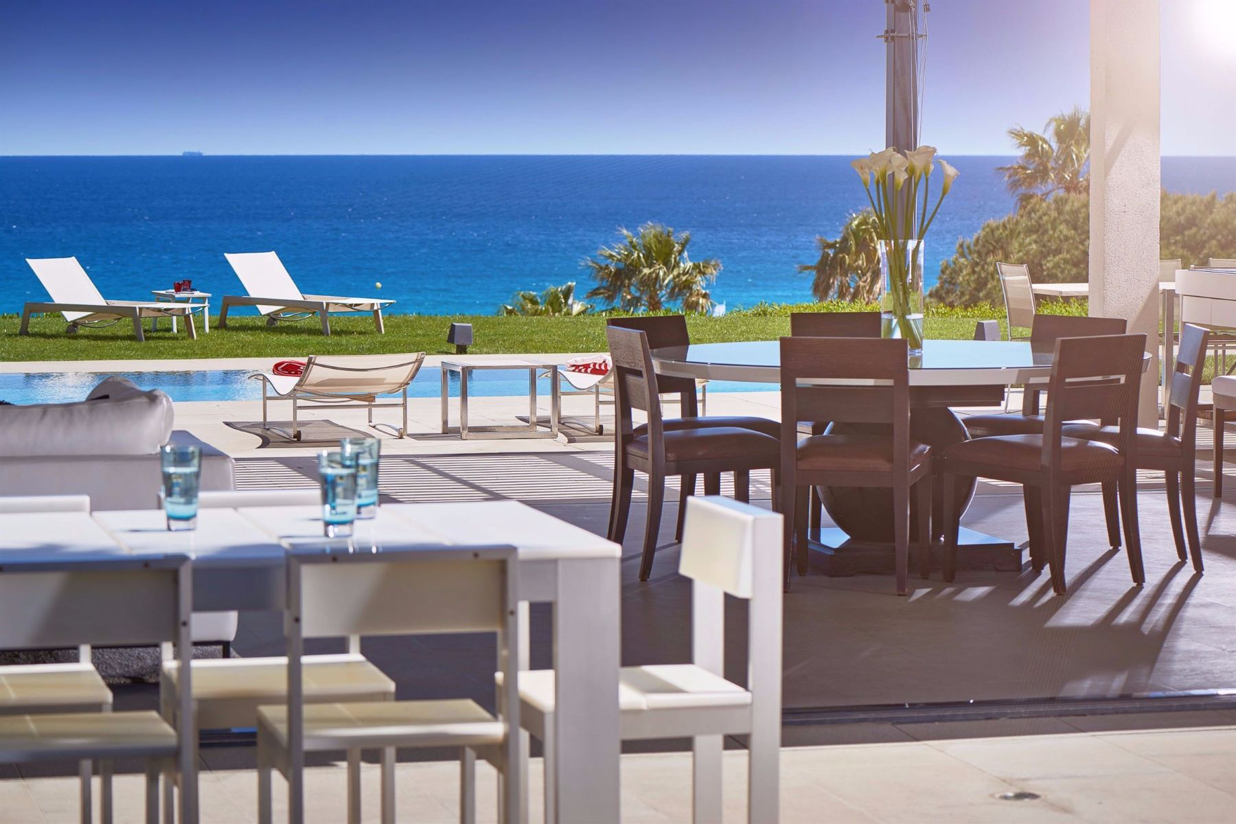 Single Family Homes por un Venta en For sale : Contemporary property, panoramic sea views, Ramatuelle Ramatuelle, Provincia - Alpes - Costa Azul 83350 Francia