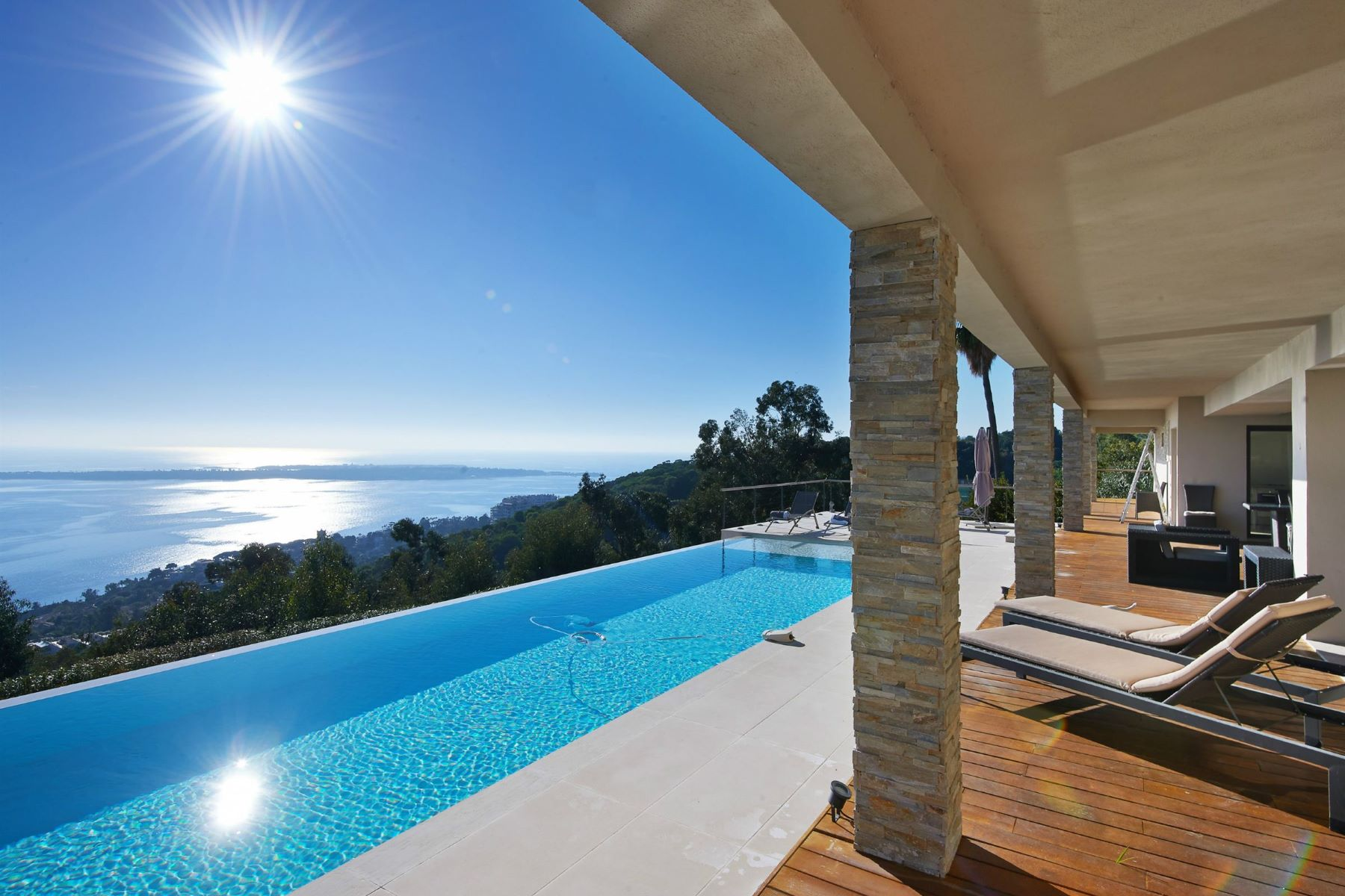 Single Family Home for Sale at Contemporary estate in Super Cannes with panoramic sea views Cannes, Provence-Alpes-Cote D'Azur, 06400 France