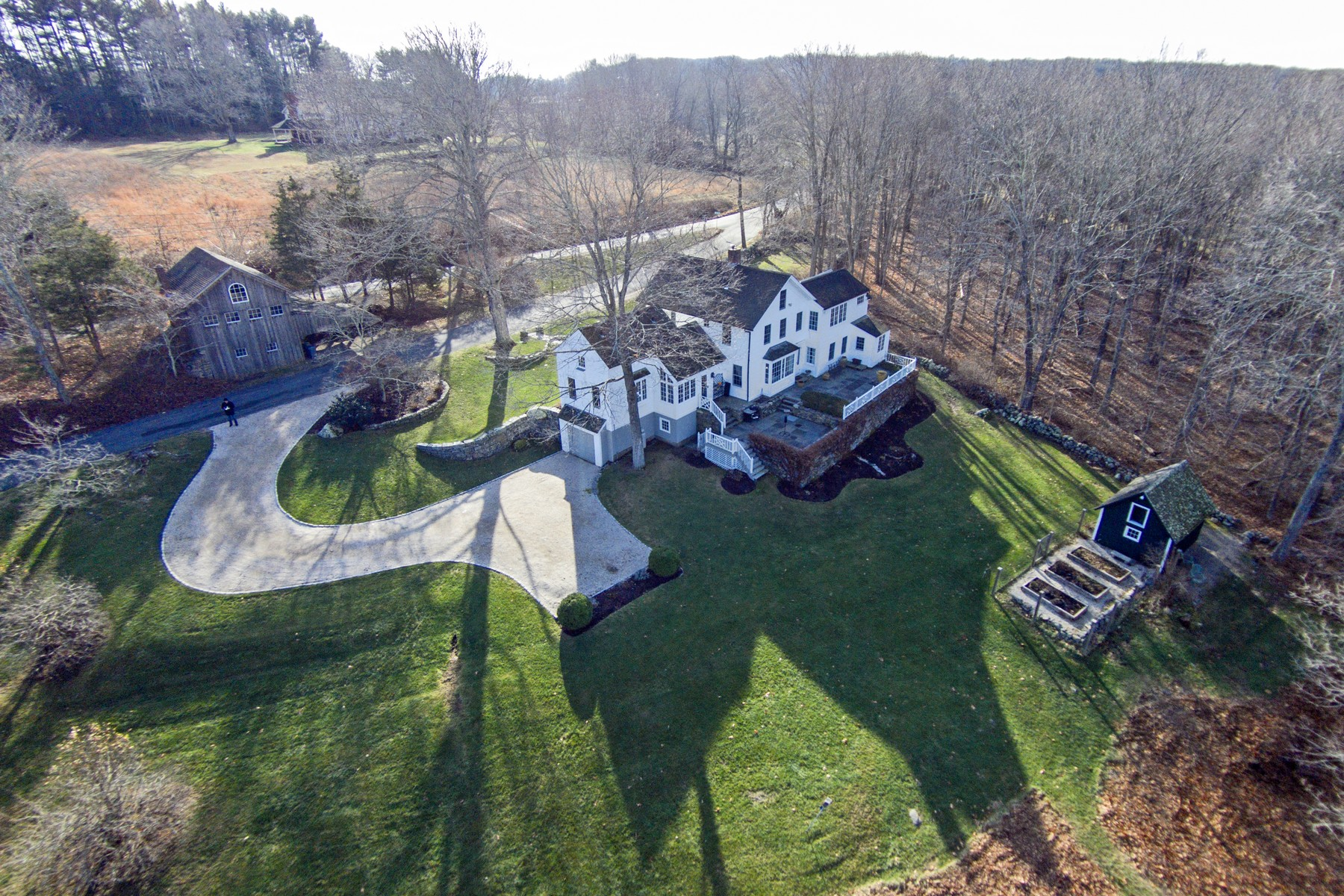 Single Family Home for Sale at Traditional New England Colonial 4 Birch Mill Rd Lyme, Connecticut 06371 United States