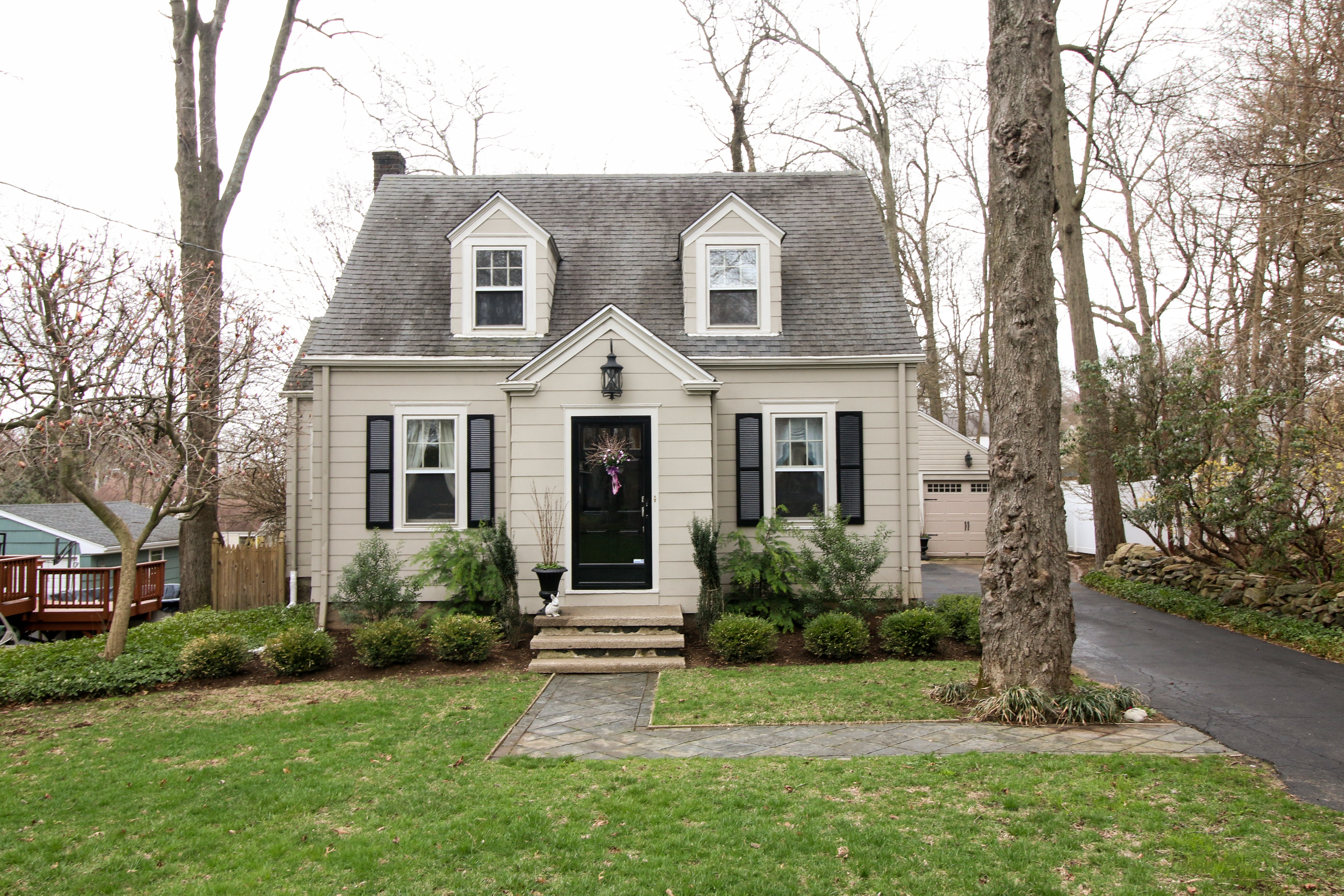 sales property at Custom Cape On Tree Lined Street