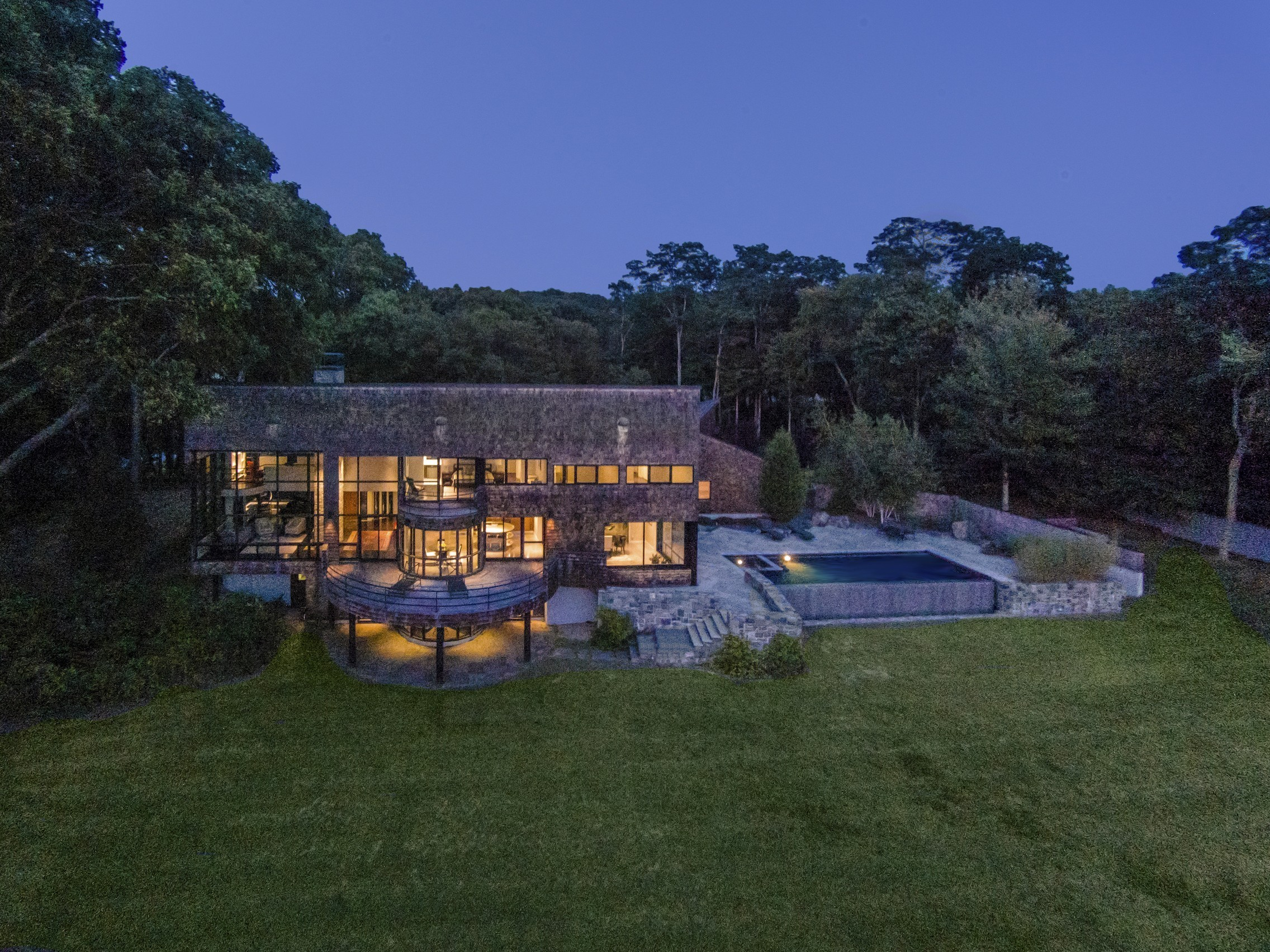 Casa Unifamiliar por un Venta en Architectural Masterpiece 60-1 Neck Rd Old Lyme, Connecticut 06371 Estados Unidos