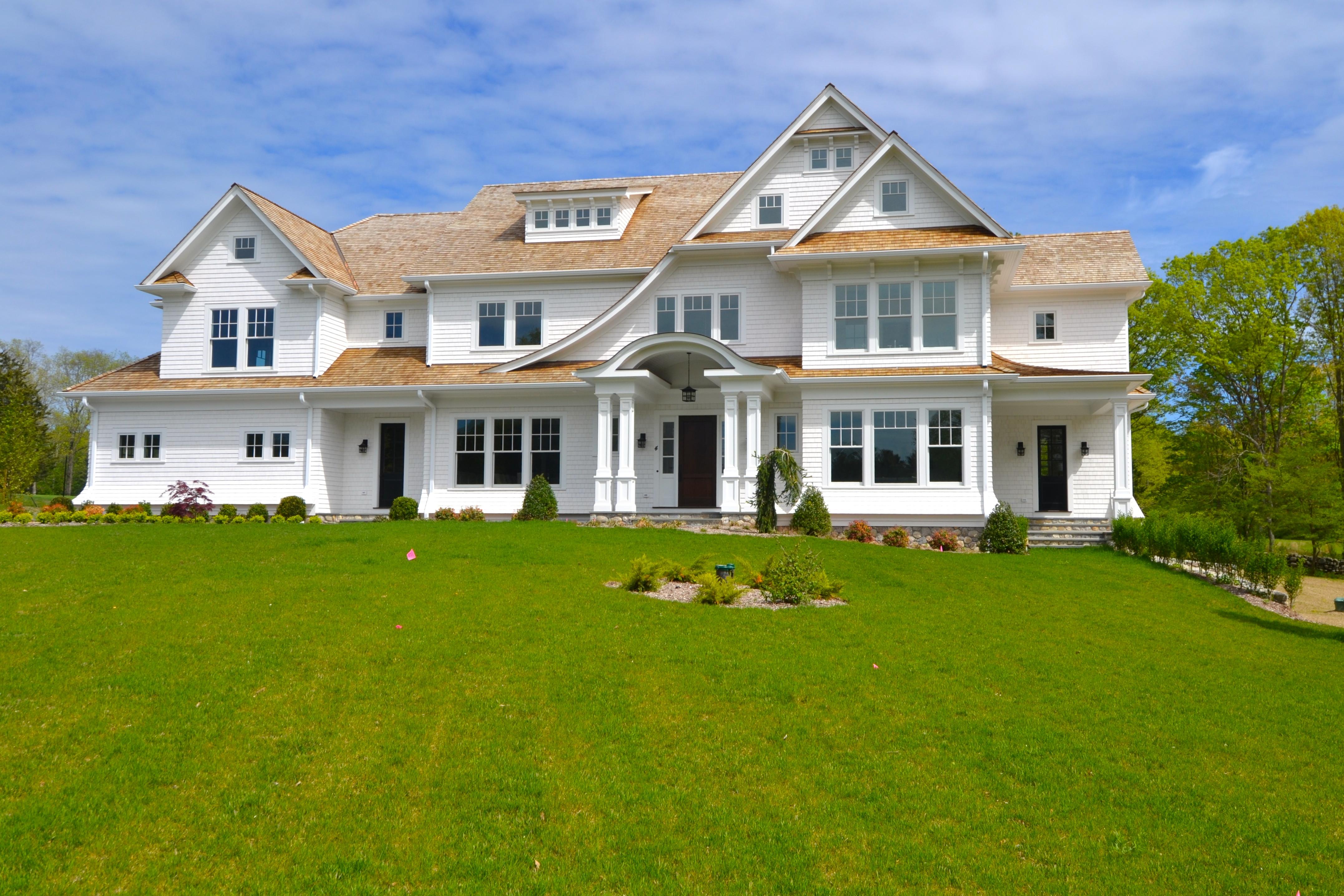 独户住宅 为 销售 在 New Construction 4 Middlebrook Lane 威尔顿, 康涅狄格州, 06897 美国