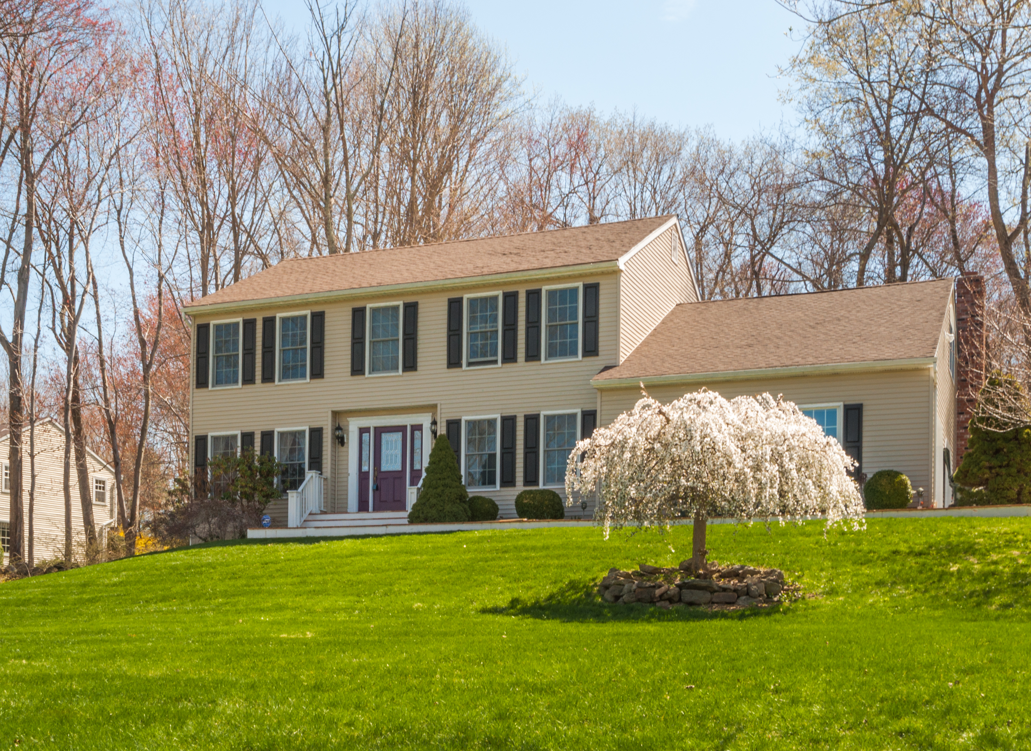 Single Family Home for Sale at Spacious Colonial 12 Old Hayrake Road Danbury, Connecticut 06811 United States
