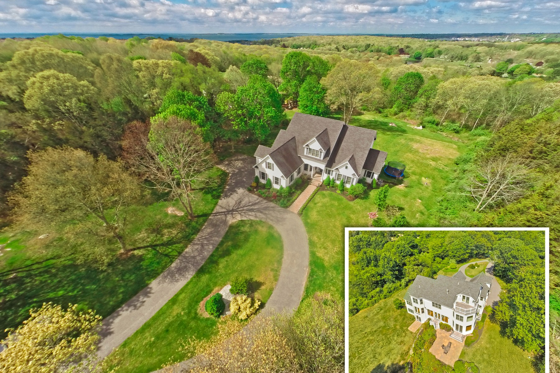 Casa Unifamiliar por un Venta en Beautifully Appointed Custom Colonial 173 Montauk Ave Stonington, Connecticut, 06378 Estados Unidos
