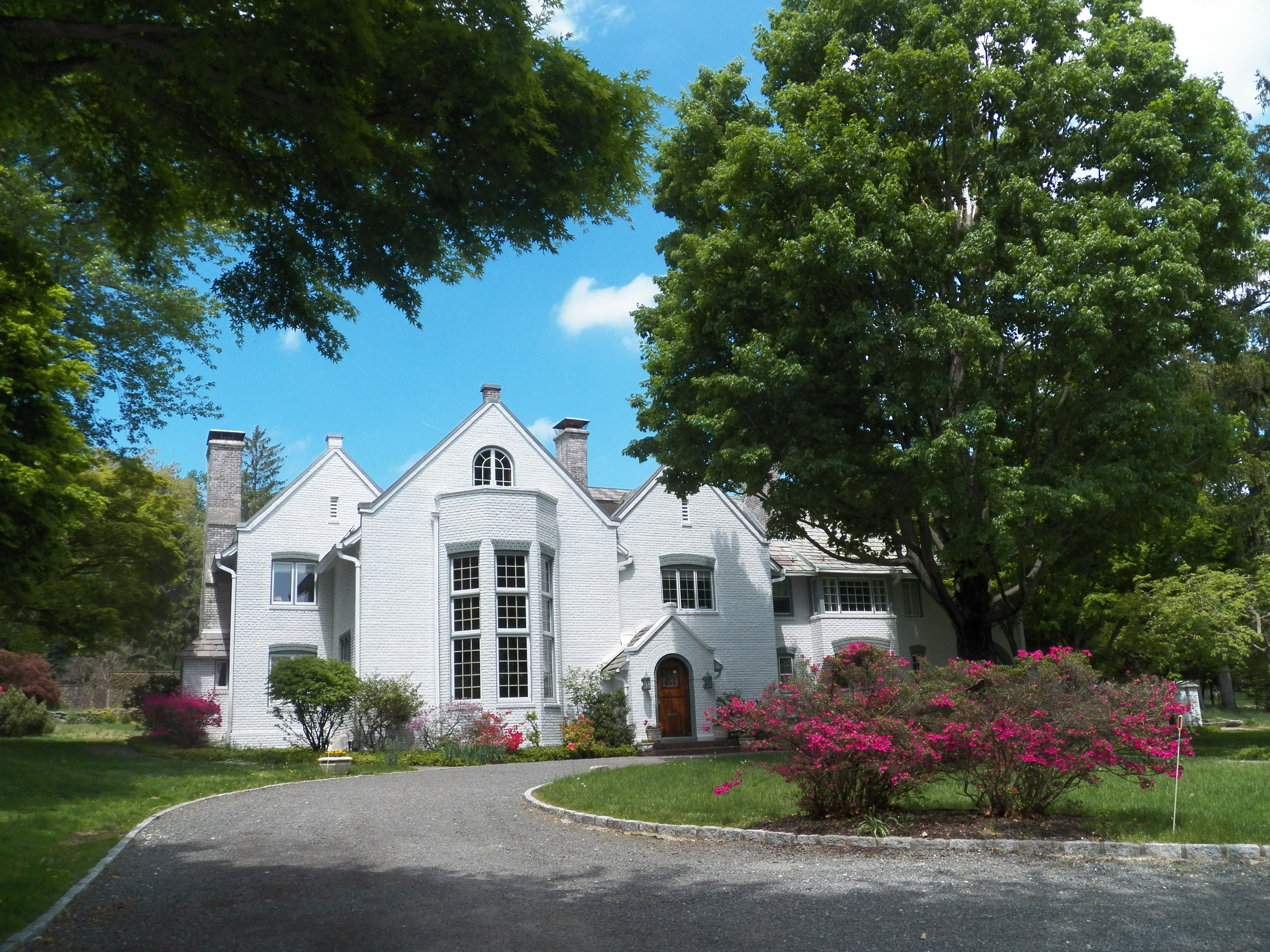 Maison unifamiliale pour l Vente à Elegant Old World Estate 1 Belmont Drive Irvington, New York 10533 États-Unis