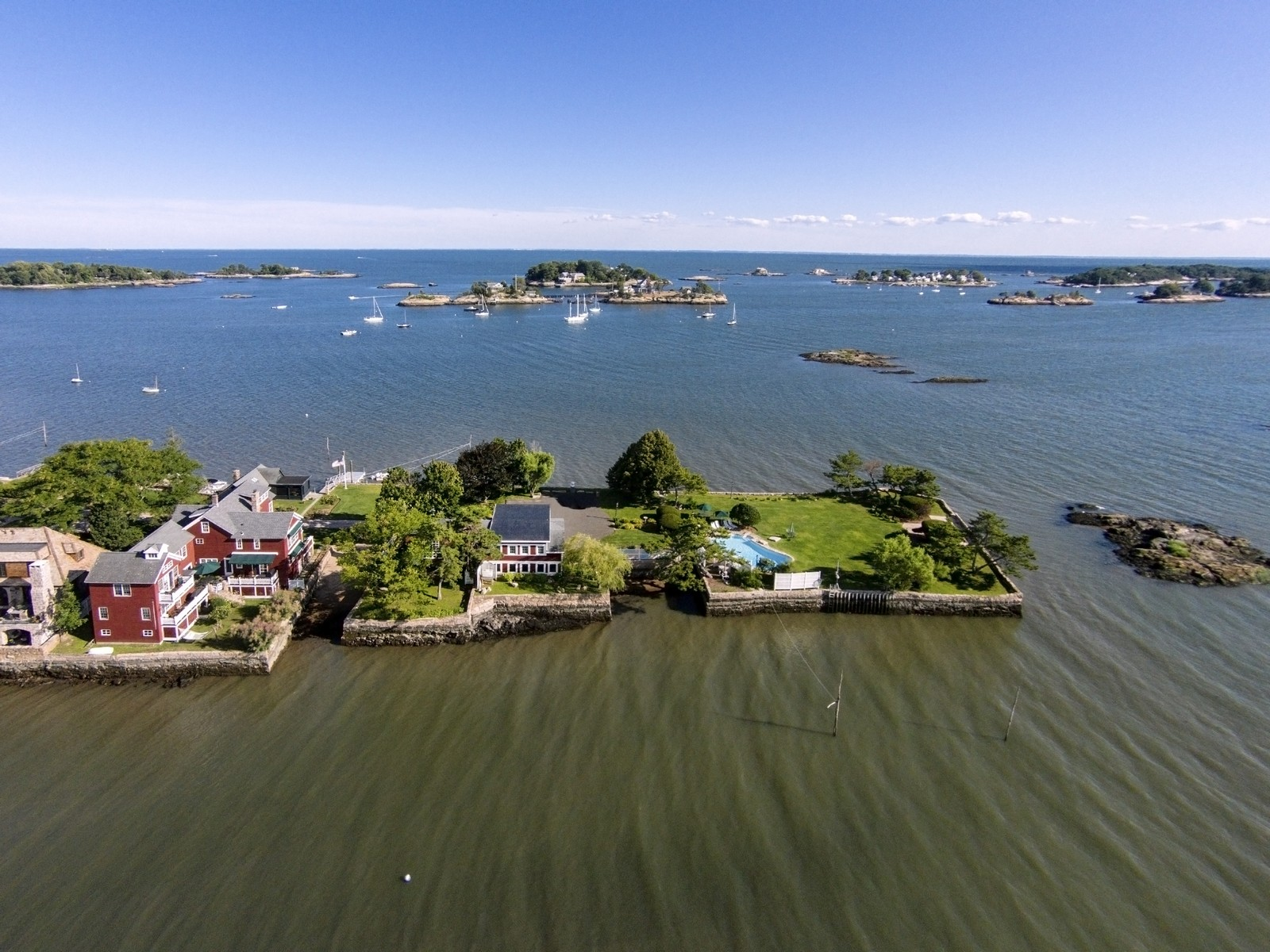 Single Family Home for Sale at Exclusive Opportunity 51 Flying Point Rd Branford, Connecticut 06405 United States