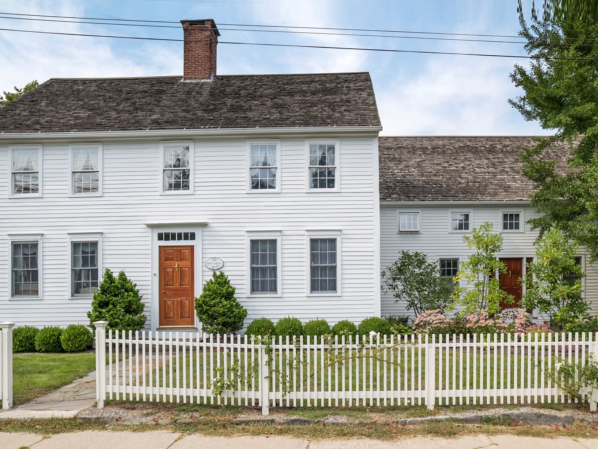 Property For Sale at The Daniel Griswold House Circa 1809