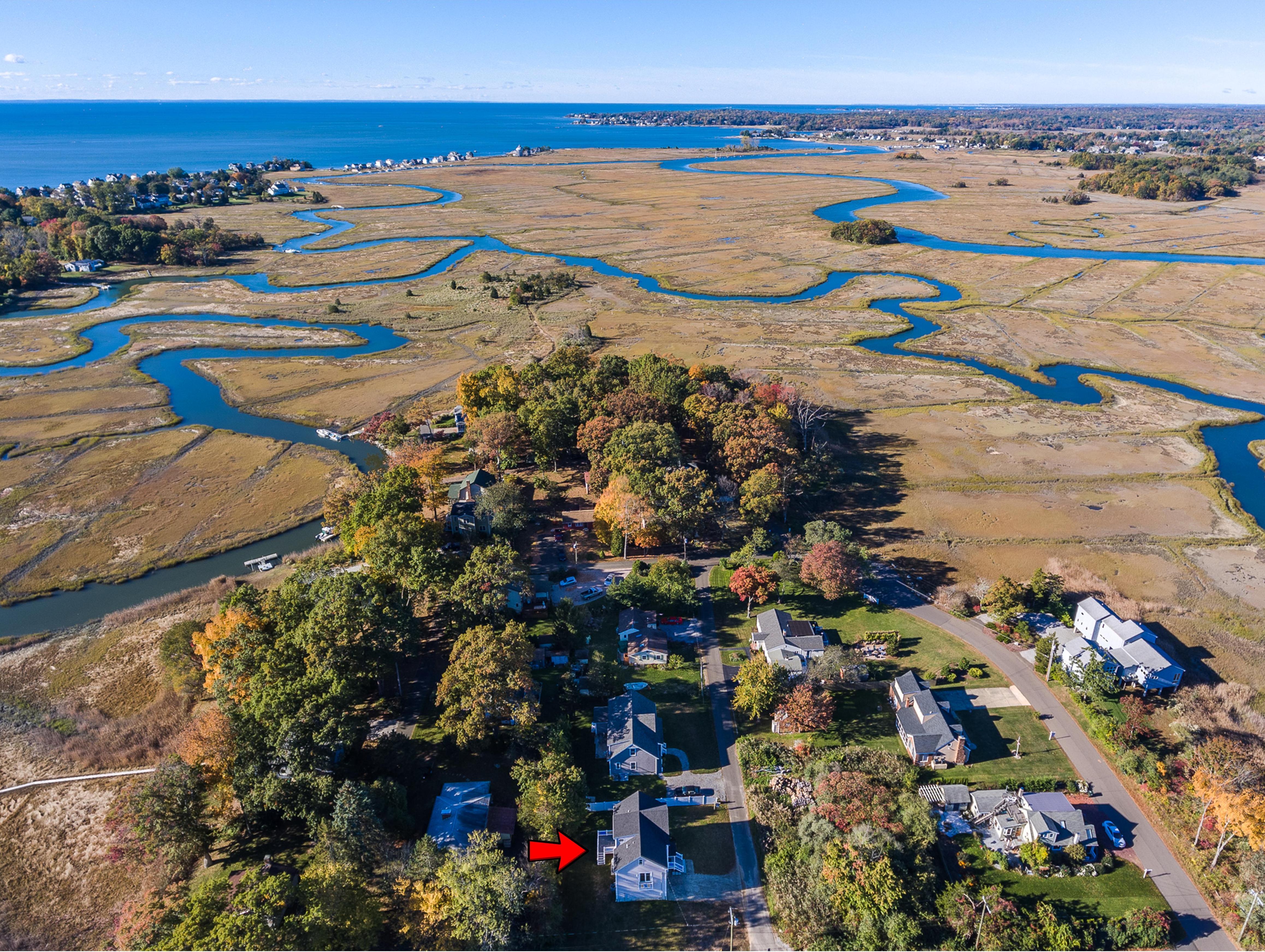 Einfamilienhaus für Verkauf beim New Construction with River Access 3 Arrowhead Road Madison, Connecticut, 06443 Vereinigte Staaten