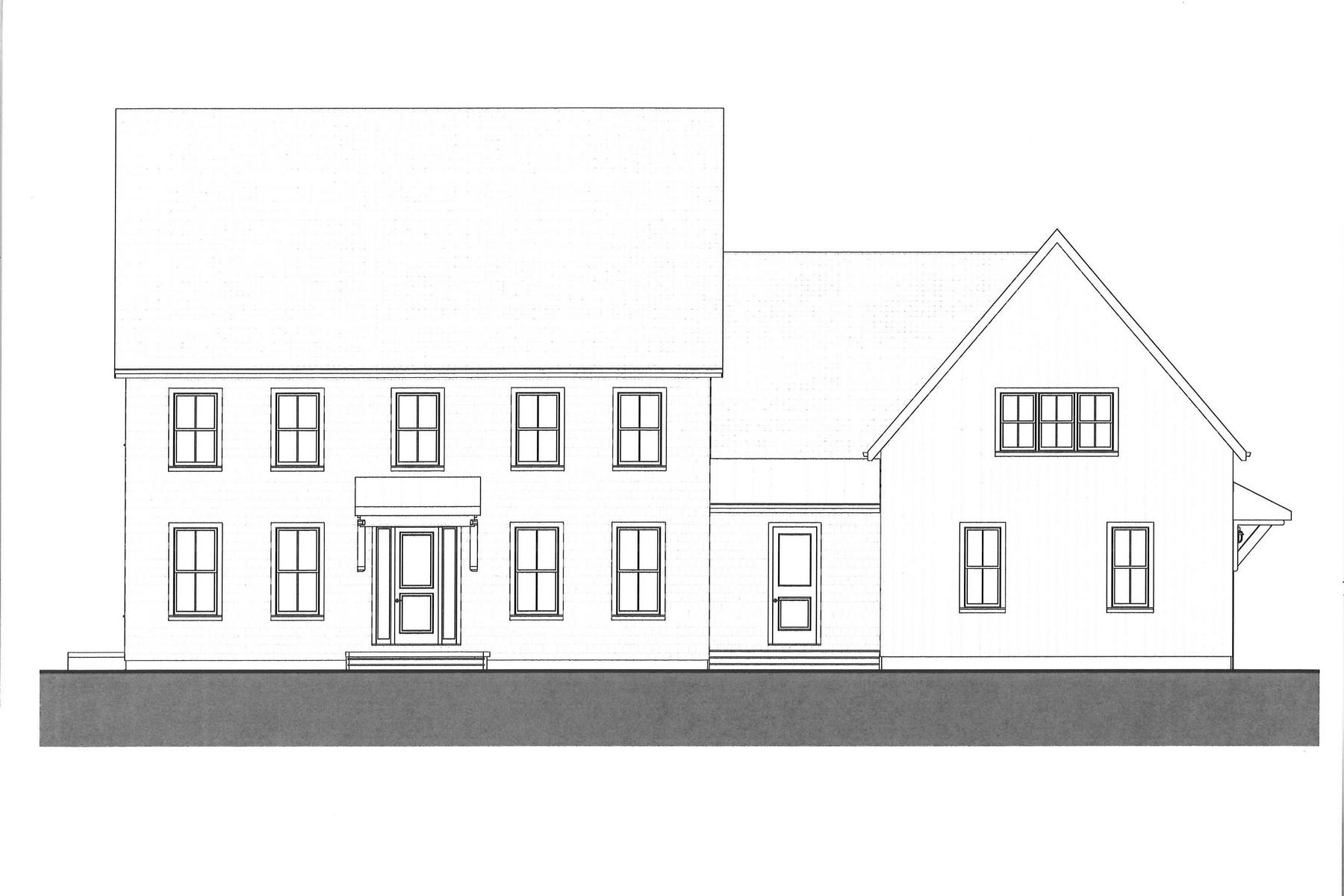 Casa para uma família para Venda às New Construction 131 Old Road Westport, Connecticut 06880 Estados Unidos