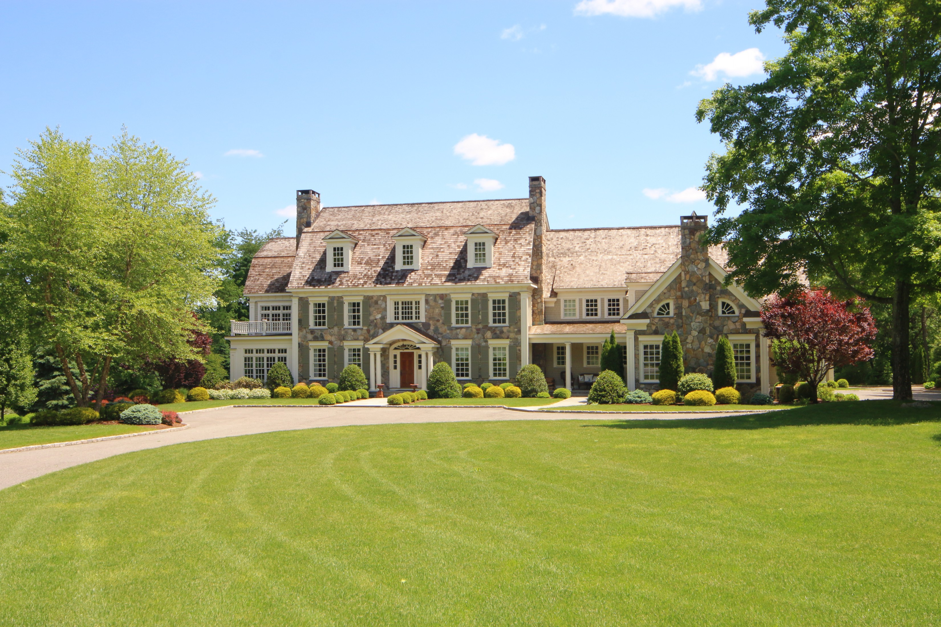 "Single Family Home for Sale at ""Fieldstone Hall"" 268 Silver Spring Road Ridgefield, Connecticut 06877 United States"