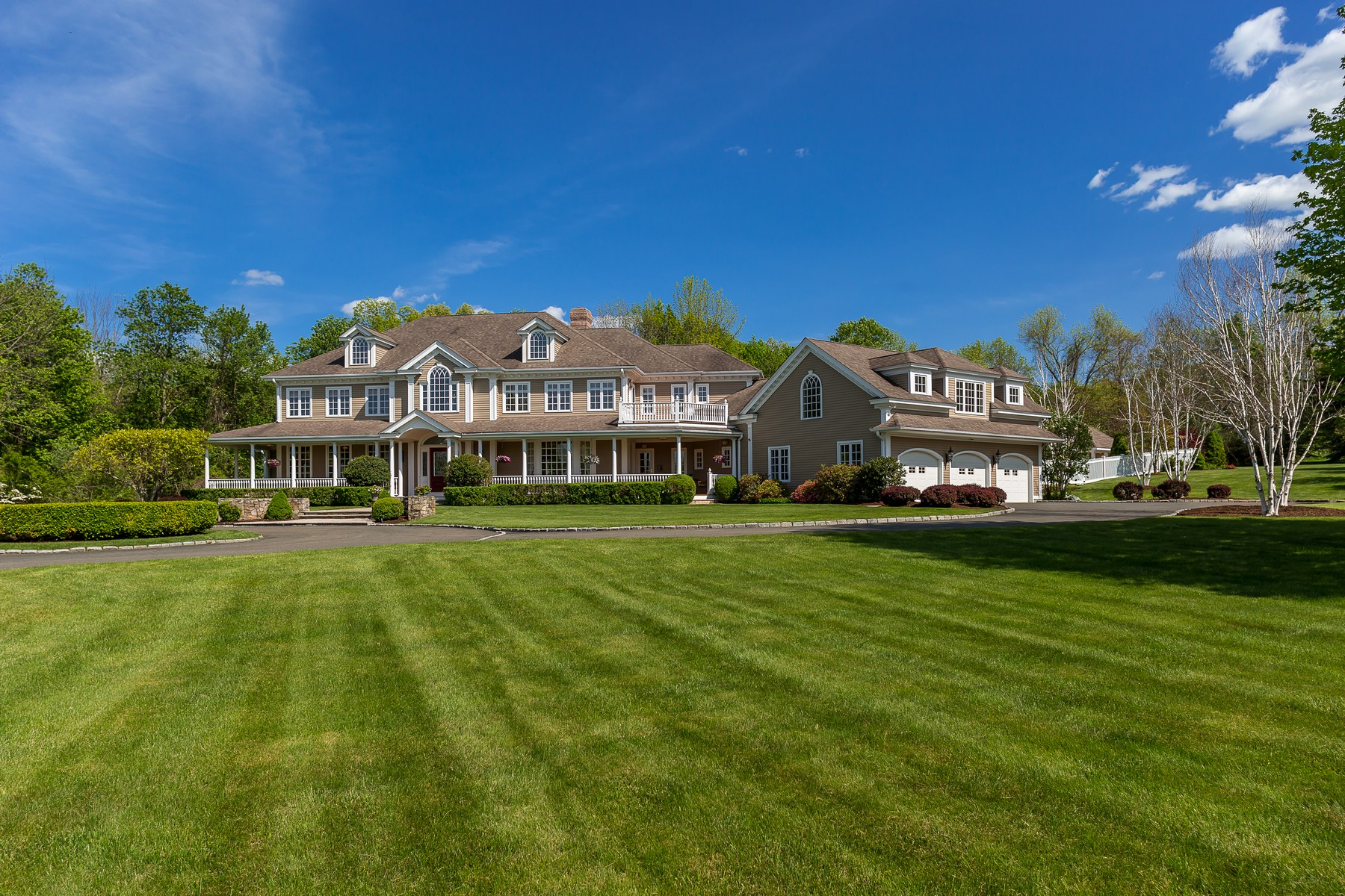 sales property at French Country Colonial