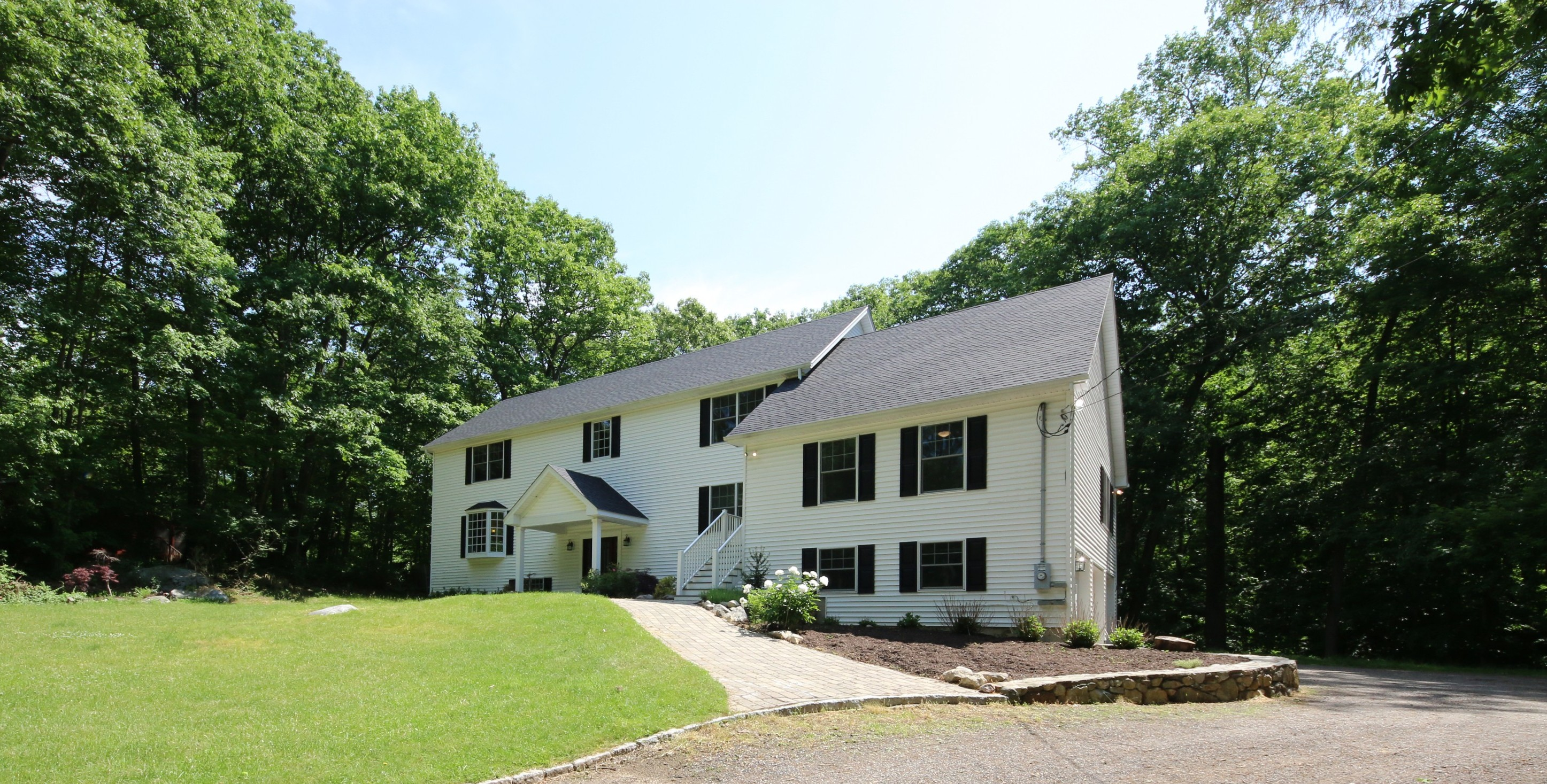 Single Family Home for Sale at Renovated ColonialContemporary 24 Pine Mountain Road Redding, Connecticut 06896 United States