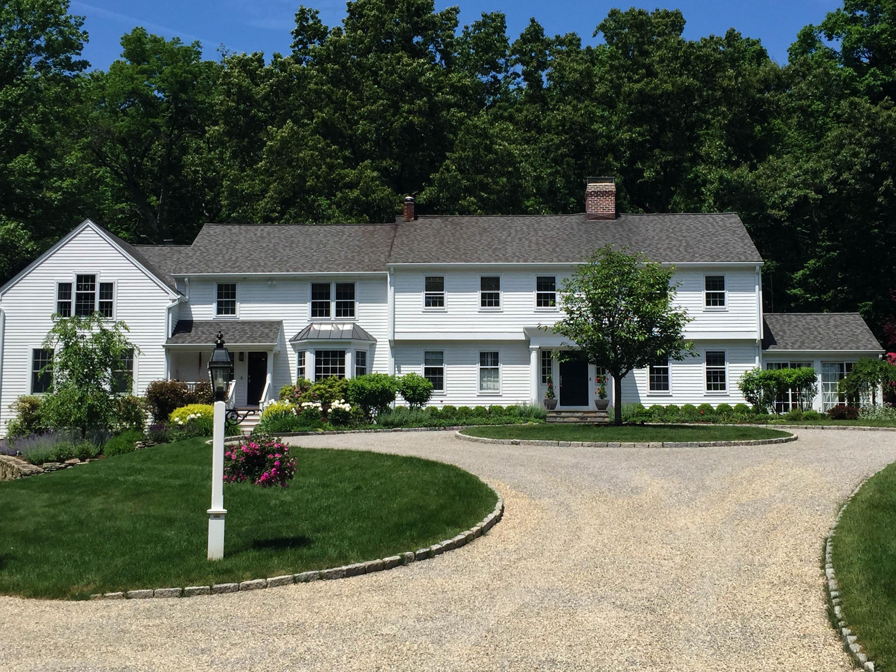 단독 가정 주택 용 매매 에 Exquisite Estate Home 124 Spectacle Lane Ridgefield, 코네티컷, 06877 미국