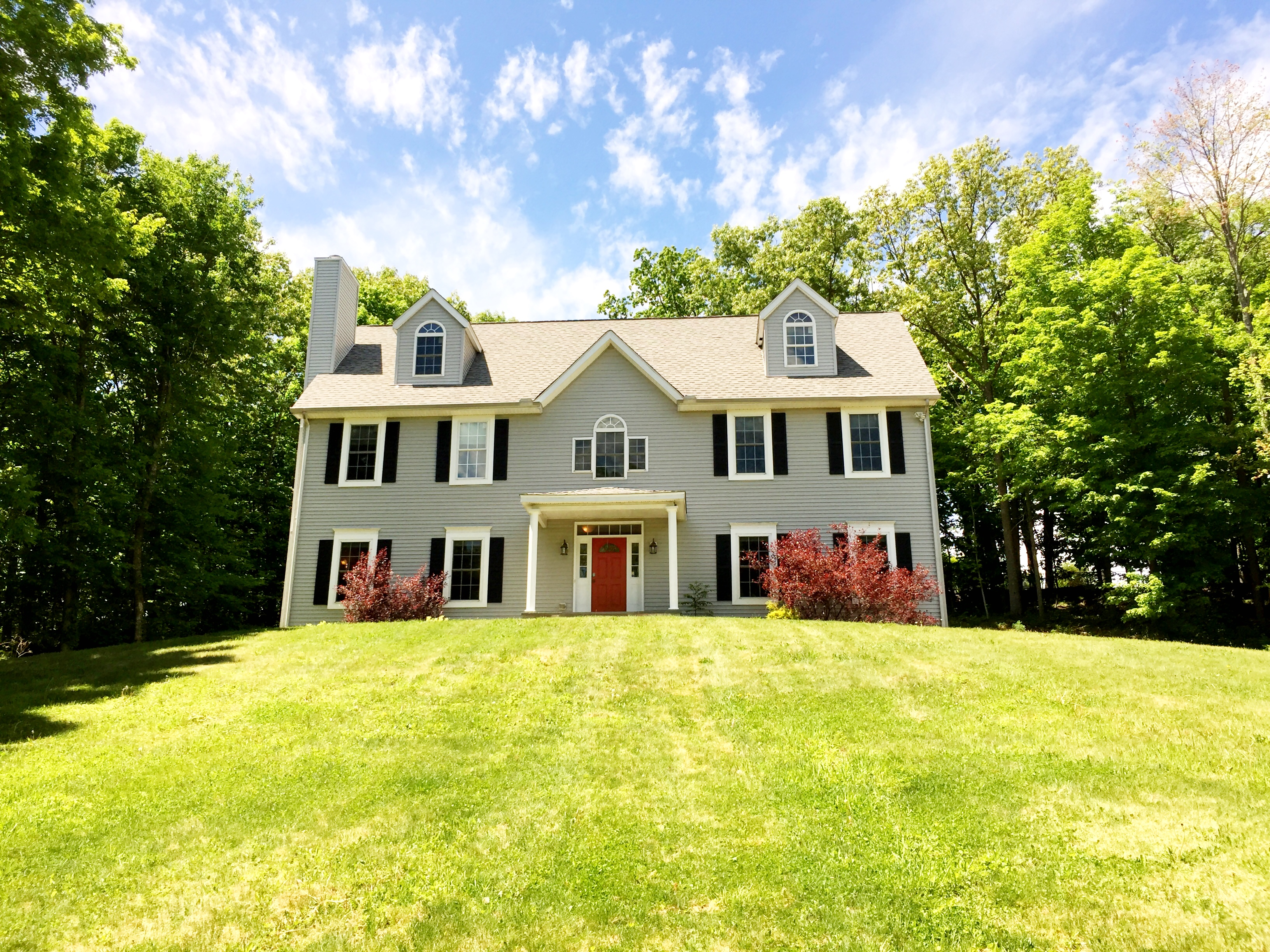 Single Family Home for Sale at Handsome New England Colonial 56 South King Street Danbury, Connecticut 06811 United States