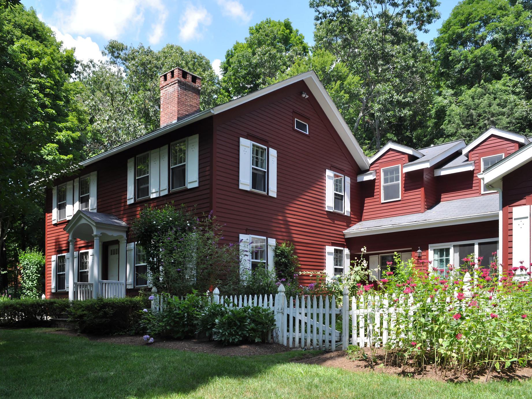 Maison unifamiliale pour l Vente à The Cass Gilbert House 56 River Rd Roxbury, Connecticut, 06783 États-Unis