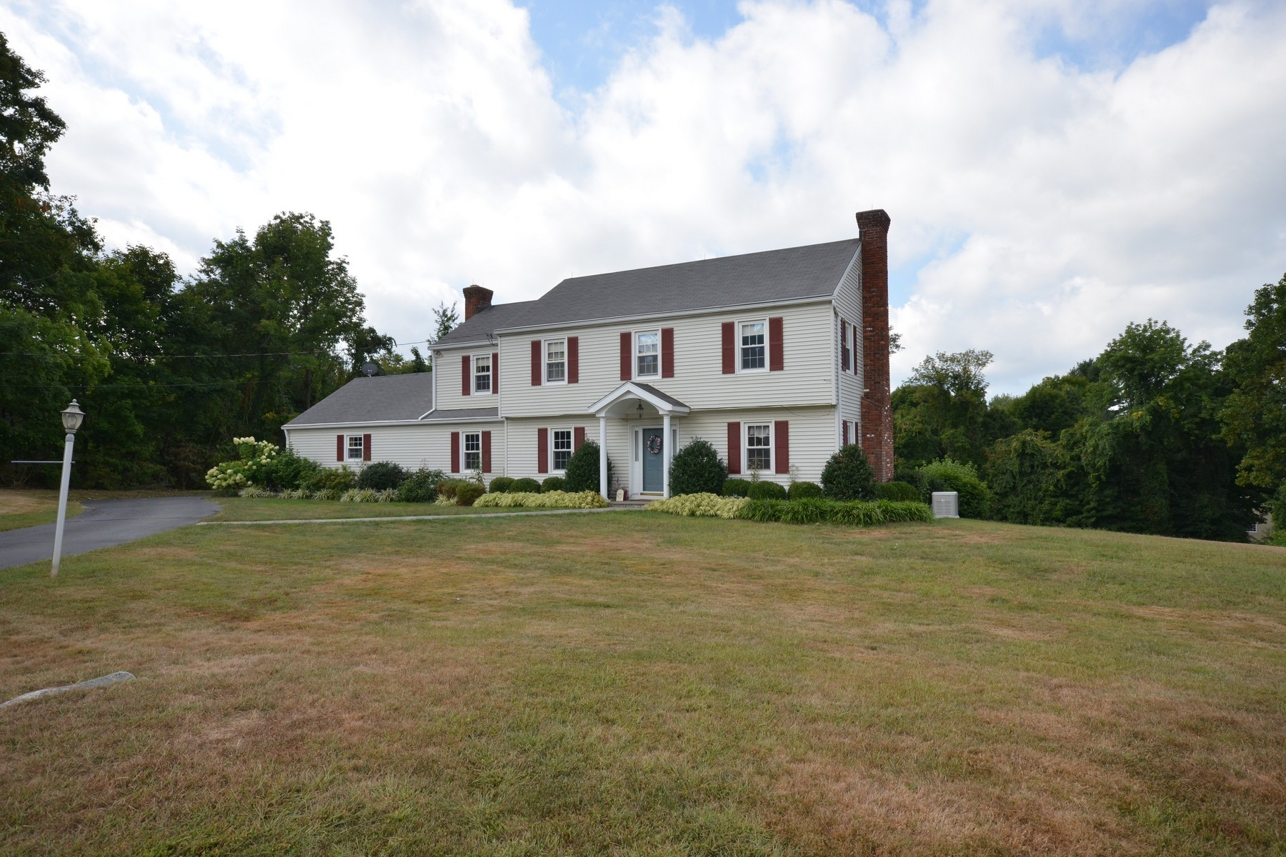 Single Family Home for Sale at 4 Bedroom Colonial on Park-like Acre 70 Powderhorn Drive Ridgefield, Connecticut 06877 United States
