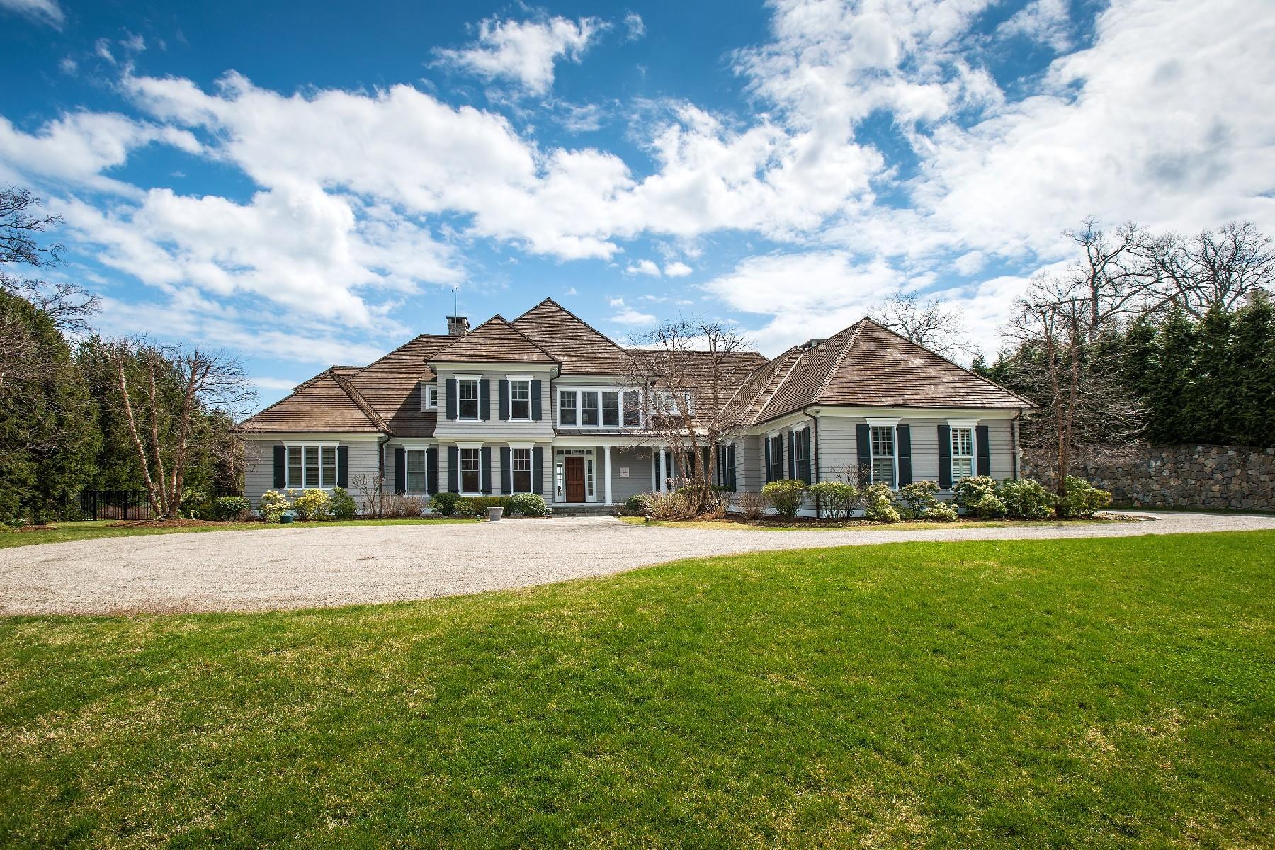 独户住宅 为 销售 在 Wilson Point - Spectacular Waterviews 10 Woodland Road 诺瓦克, 康涅狄格州, 06854 美国
