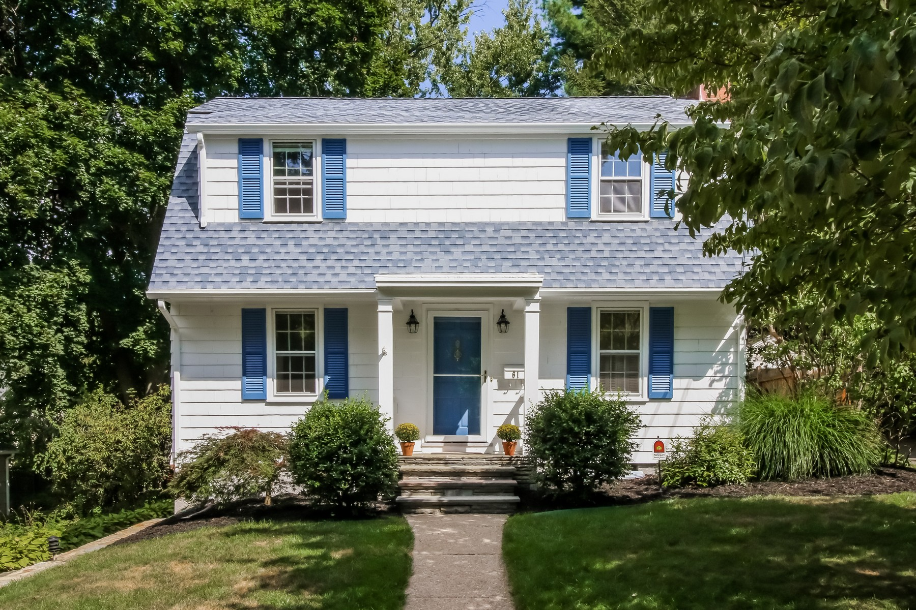 Property For Sale at Sweet Dutch Colonial on Picture Perfect Stratfield Street