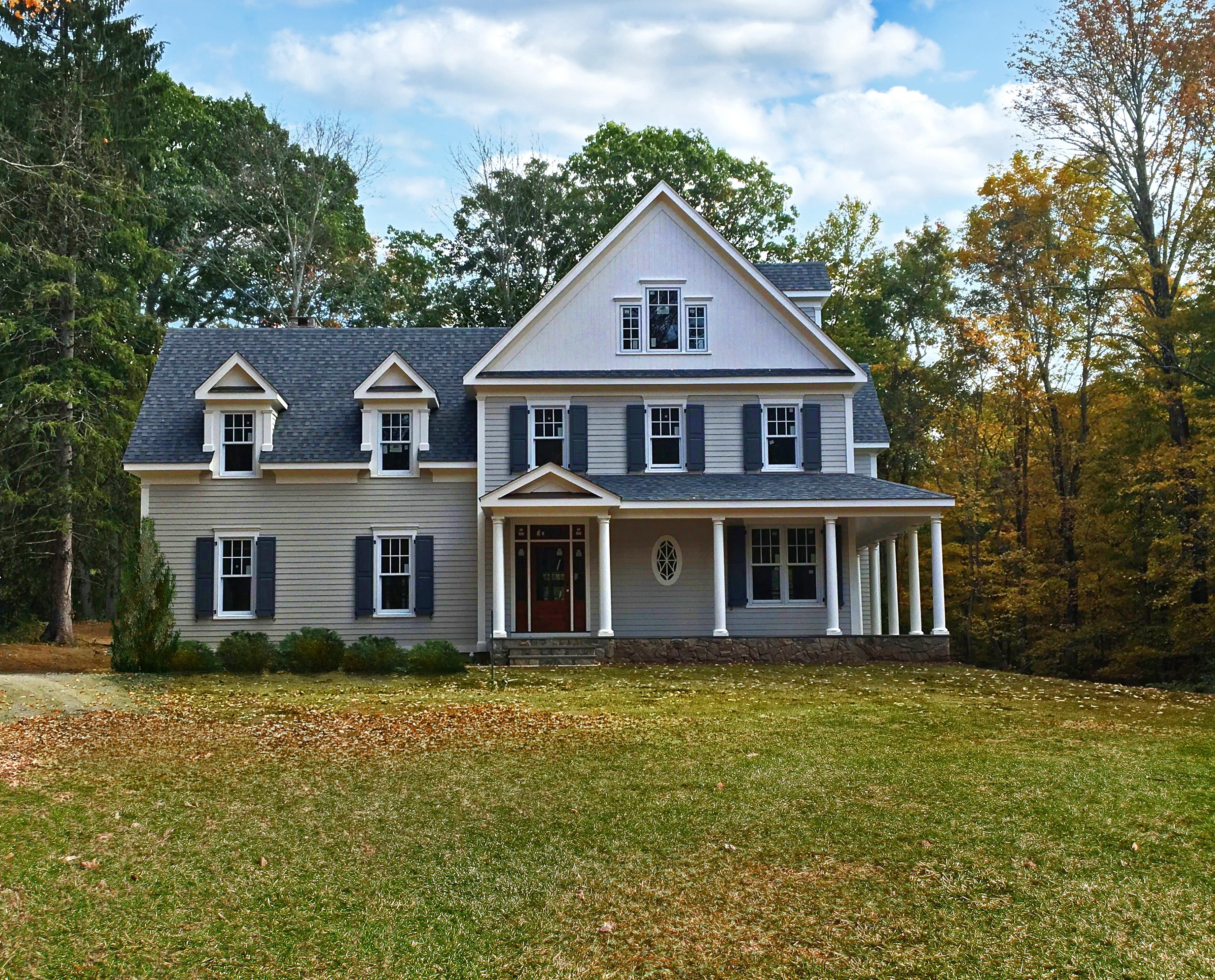 Casa Unifamiliar por un Venta en New Construction 263 Peaceable Street Ridgefield, Connecticut, 06877 Estados Unidos