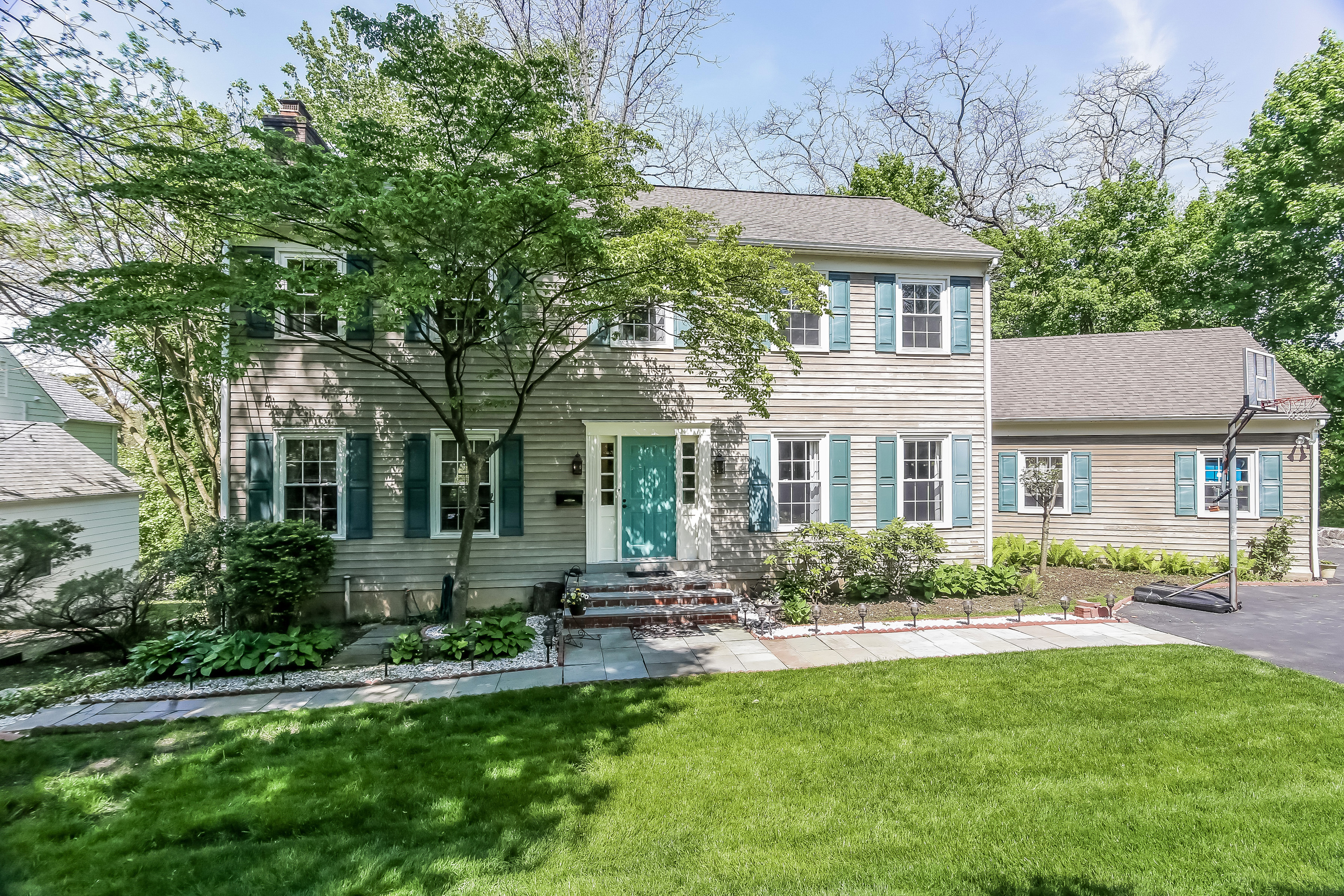 sales property at Handsome Center Hall Colonial