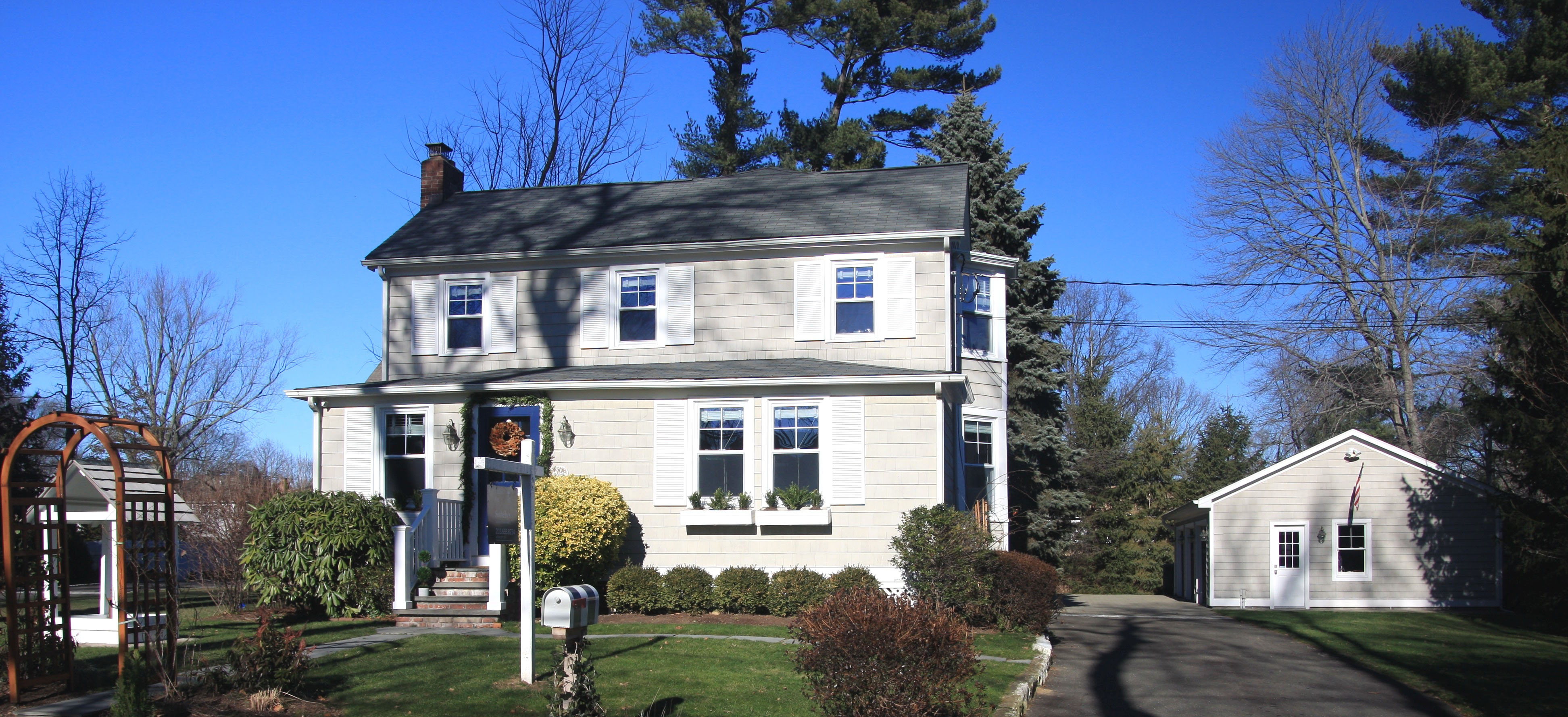 Single Family Home for Sale at Classic, Charming and Convenient 67 Relihan Road Darien, Connecticut, 06820 United States