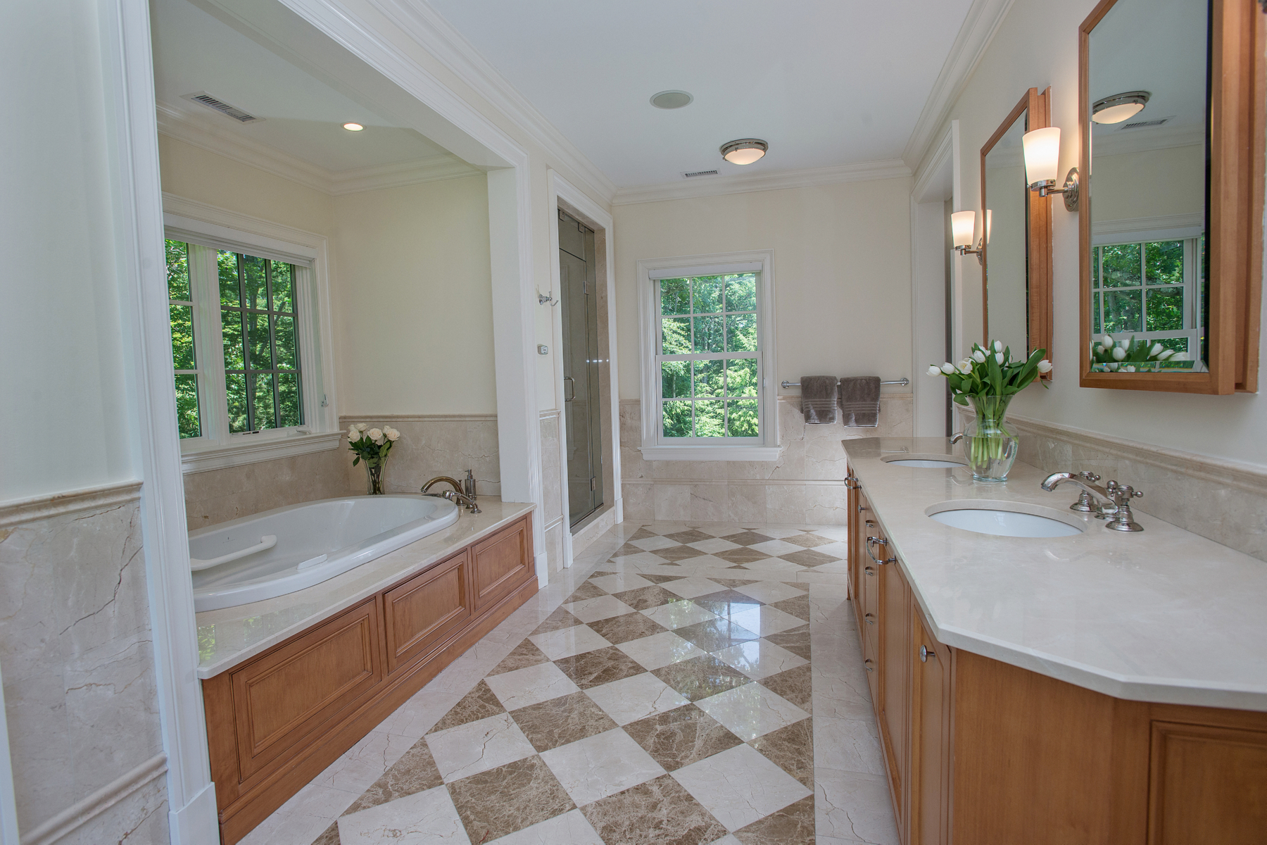 Property Of Classic Stone & Shingle Colonial