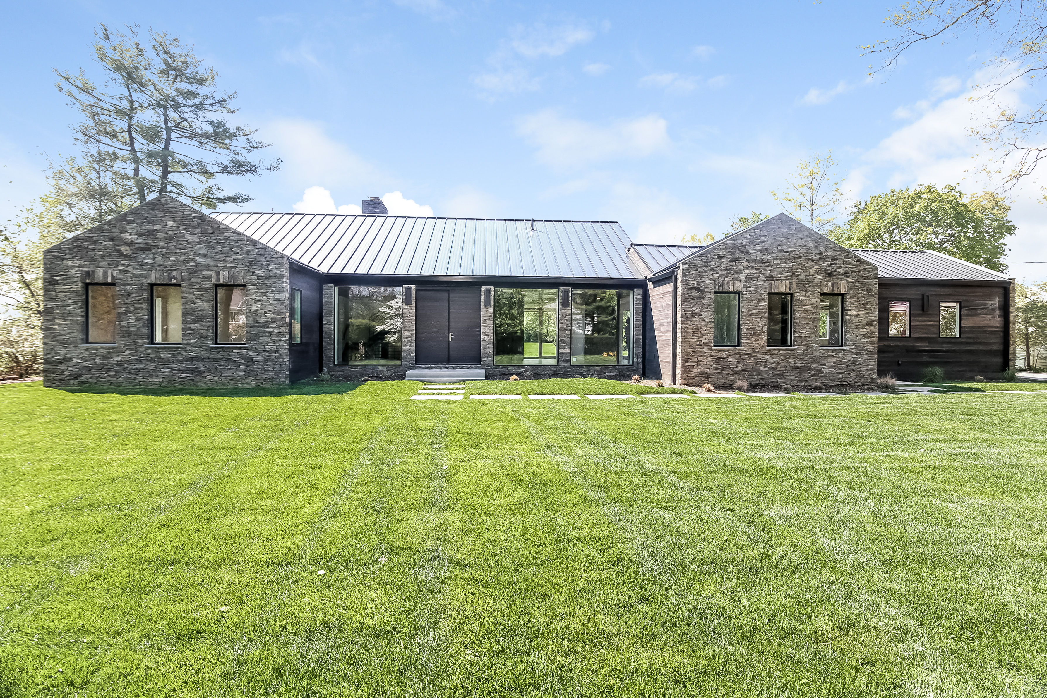Single Family Home for Sale at Scarsdale Contemporary 50 Sheldrake Road Scarsdale, New York, 10583 United States