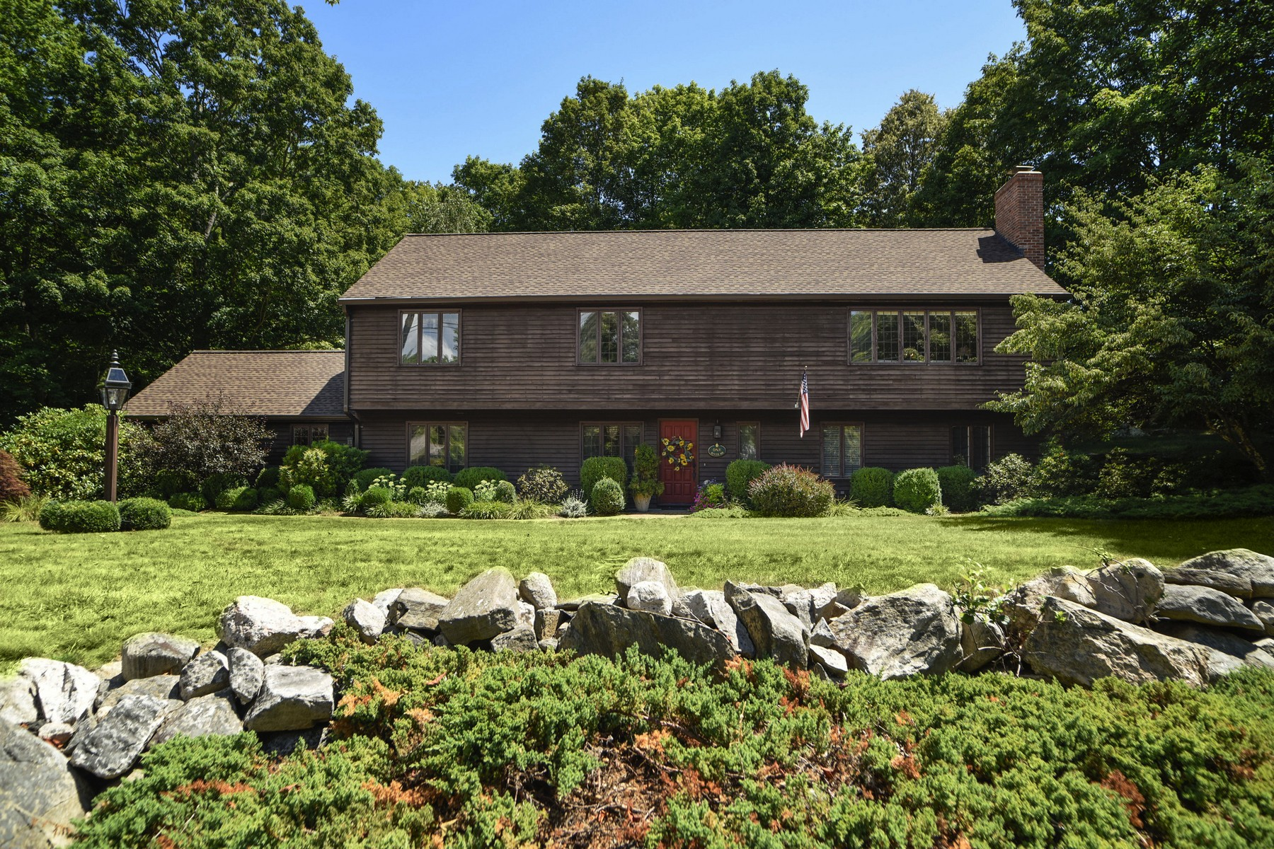 sales property at Lovely Colonial on Exquisitely Landscaped Lot
