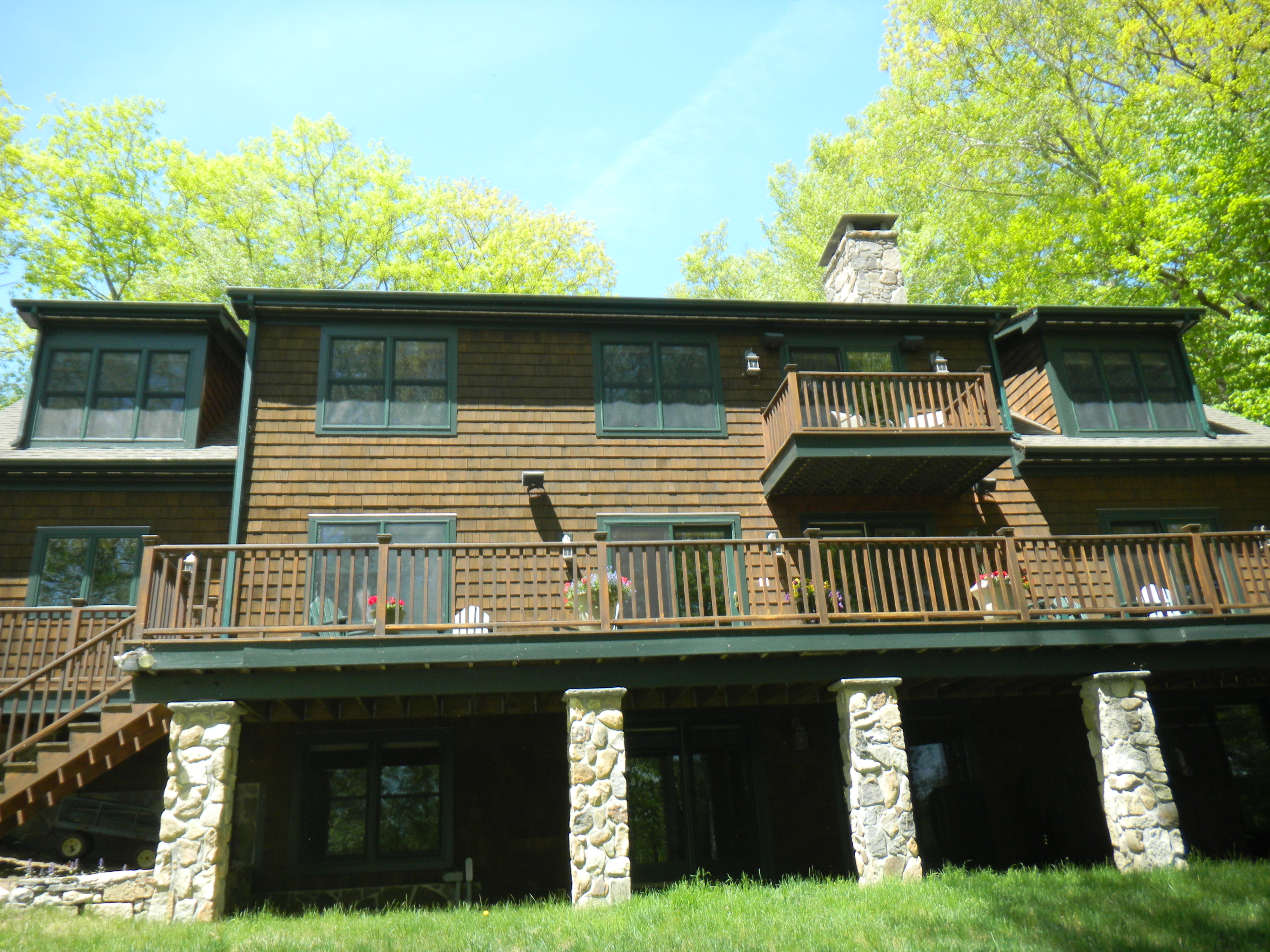 Single Family Home for Sale at Classic Woodridge Lakefrotn Beauty 263 West Hyerdale Dr Goshen, Connecticut, 06756 United States