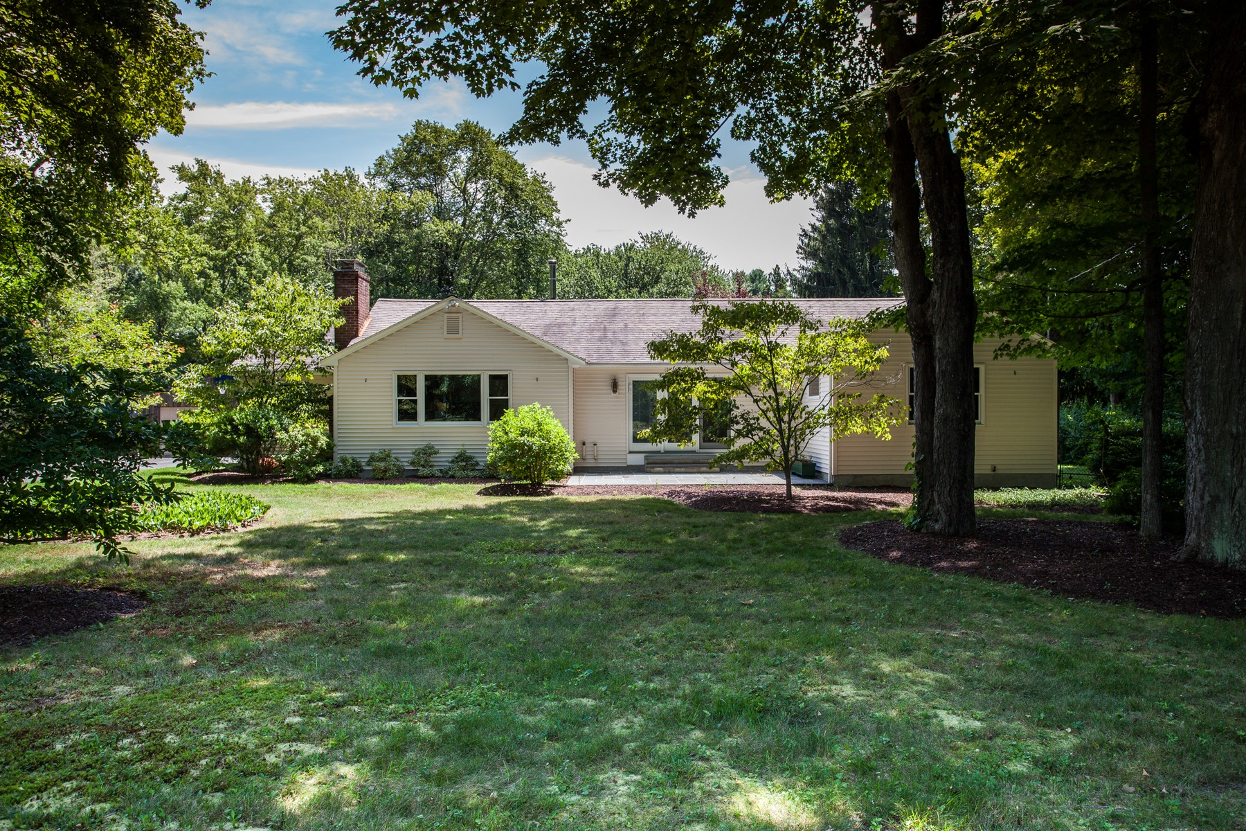 Single Family Home for Sale at Updated Ranch, Picturesque Setting 61 Sill Ln Old Lyme, Connecticut, 06371 United States