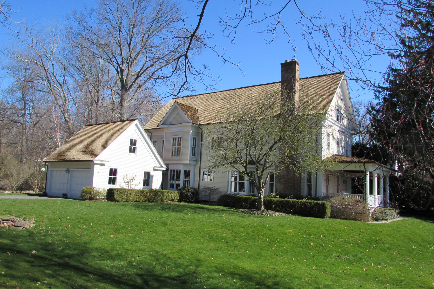 Single Family Home for Sale at Heart of Southport Village 330 Harbor Road Southport, Fairfield, Connecticut, 06890 United States