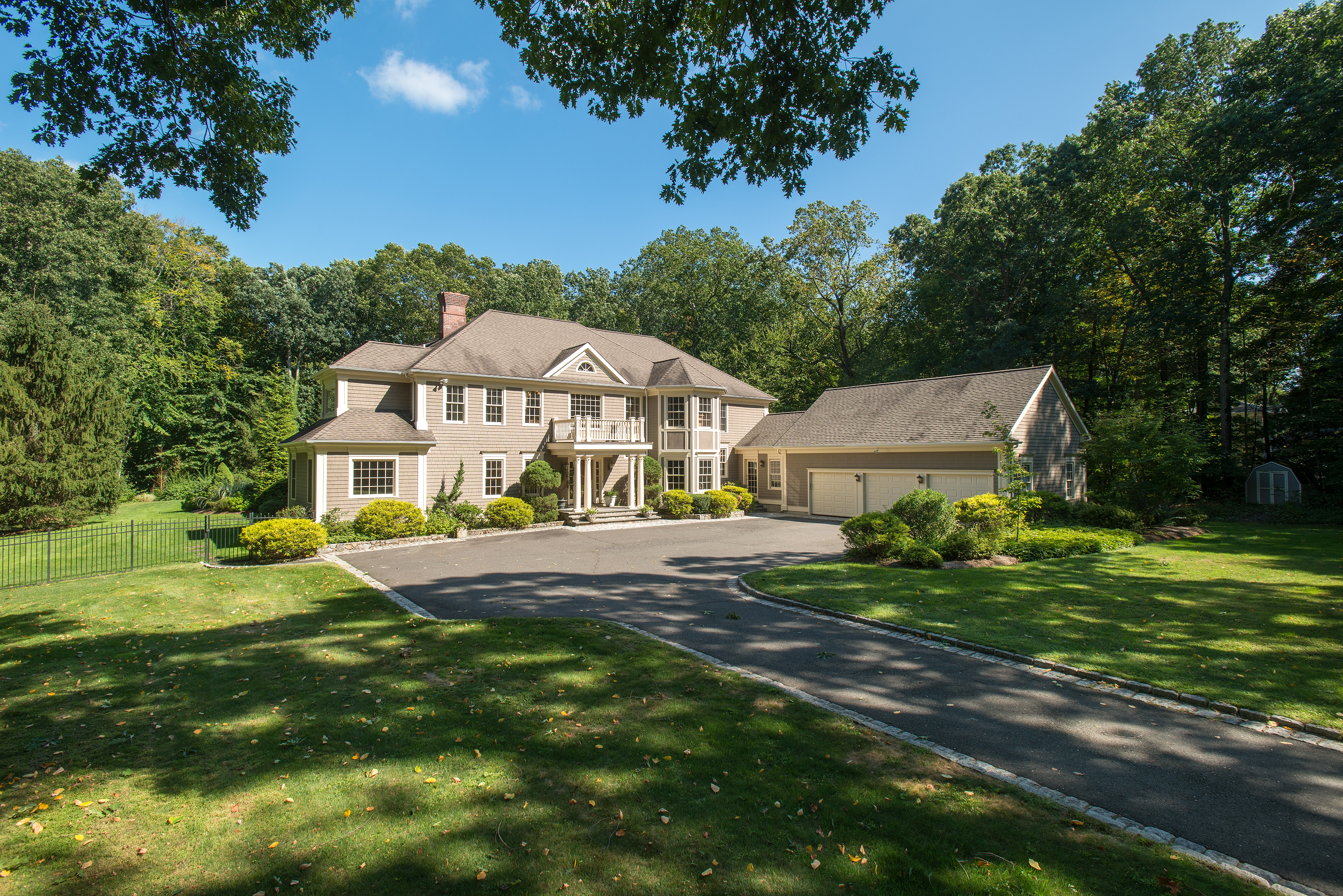 Property For Sale at Custom Colonial with Wonderful Outdoor Space