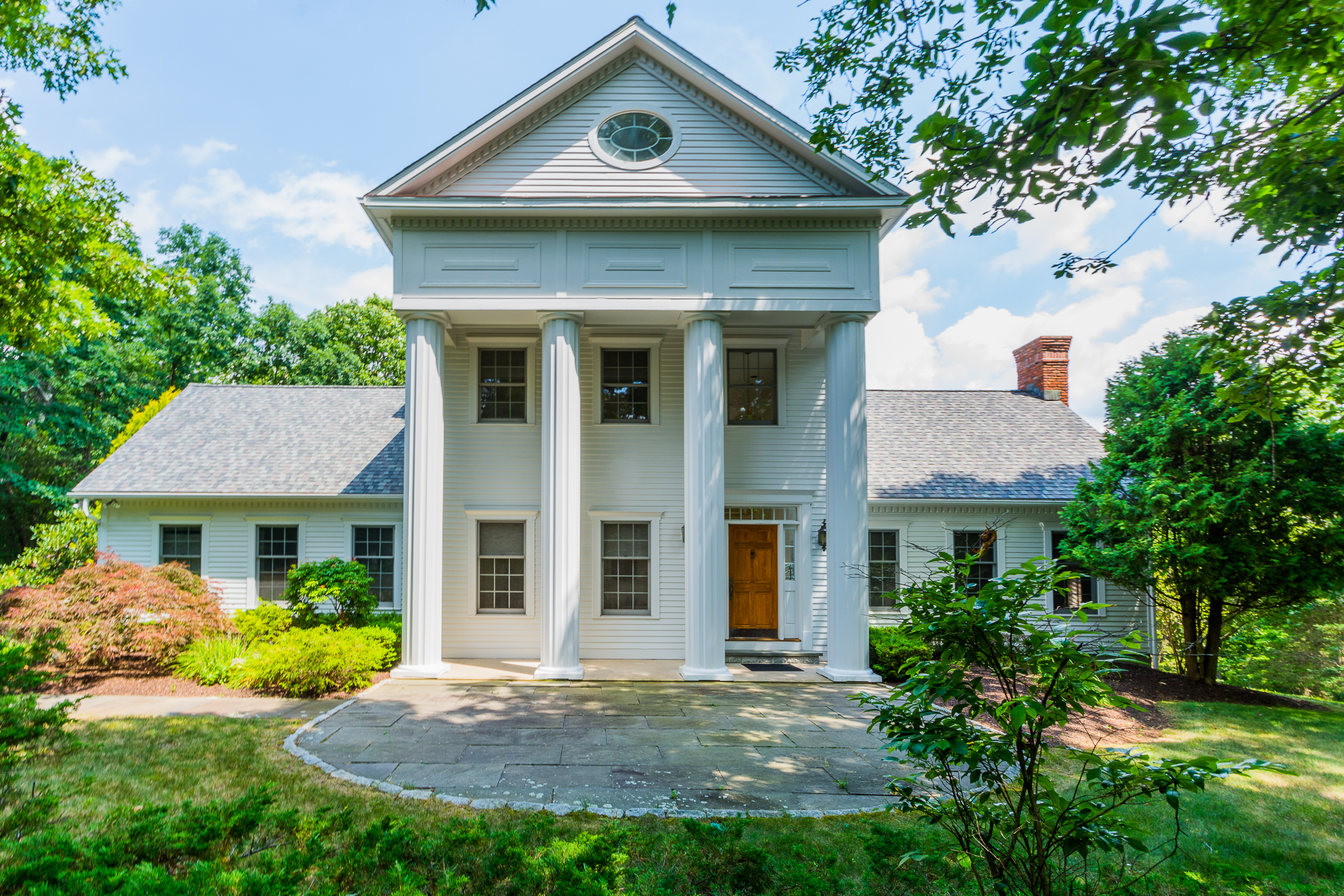 Single Family Home for Sale at Stunning Greek Revival Estate 3 High Fields Drive Danbury, Connecticut, 06811 United States