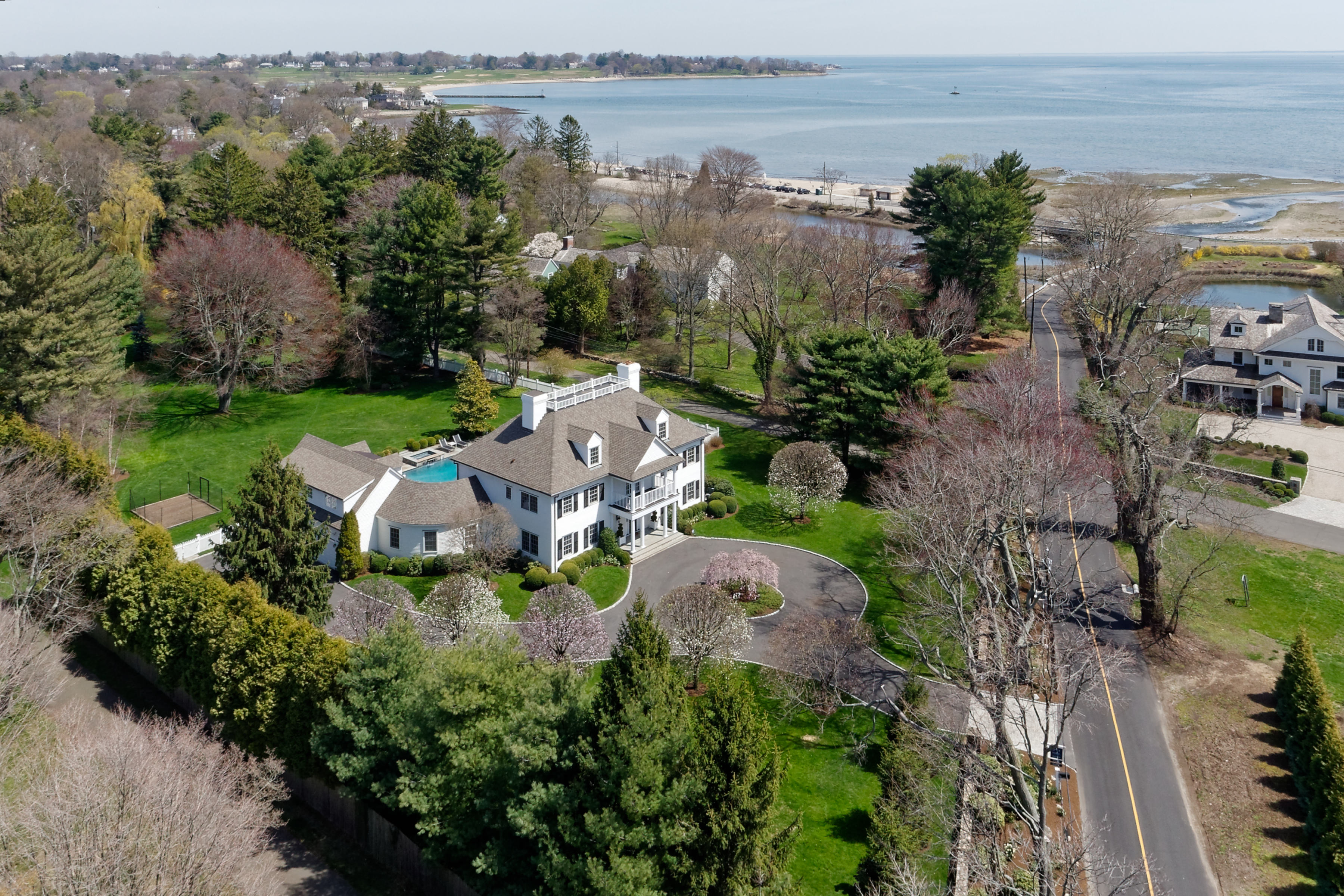 open-houses property at Spectacular Residence in Greens Farms