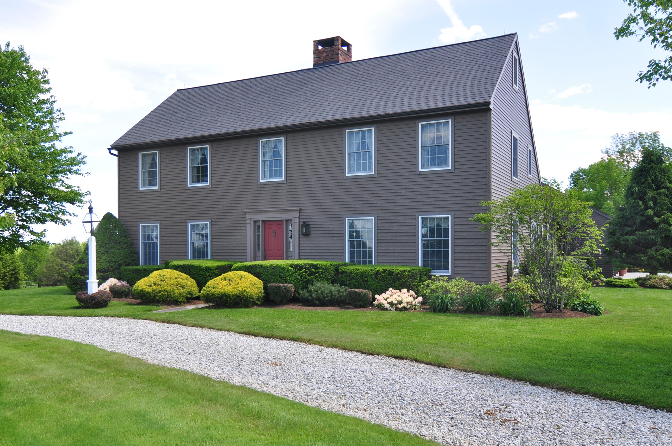 Single Family Home for Sale at Elegant Colonial with Views 72 Pie Hill Road Goshen, Connecticut, 06756 United States