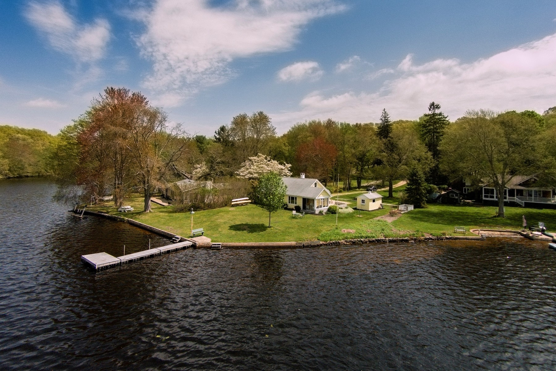 Single Family Home for Sale at Waterfront Living at Rogers Lake 76 Grassy Hill Rd Old Lyme, Connecticut 06371 United States